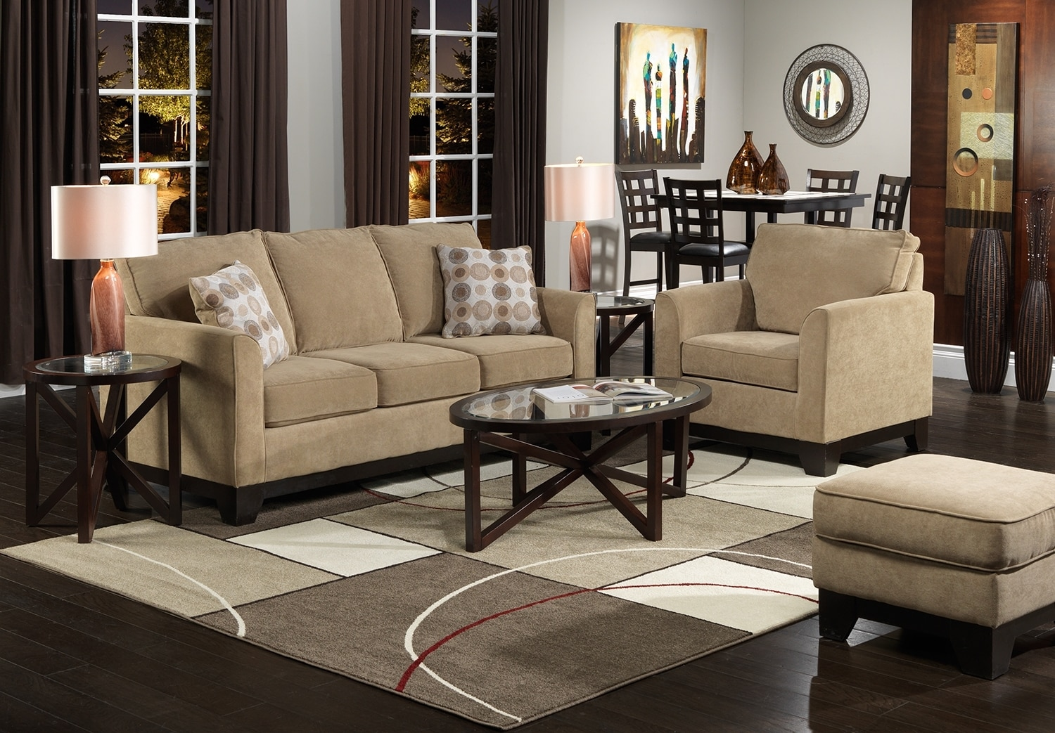 Living room furniture the sand castle collection sand castle sofa
