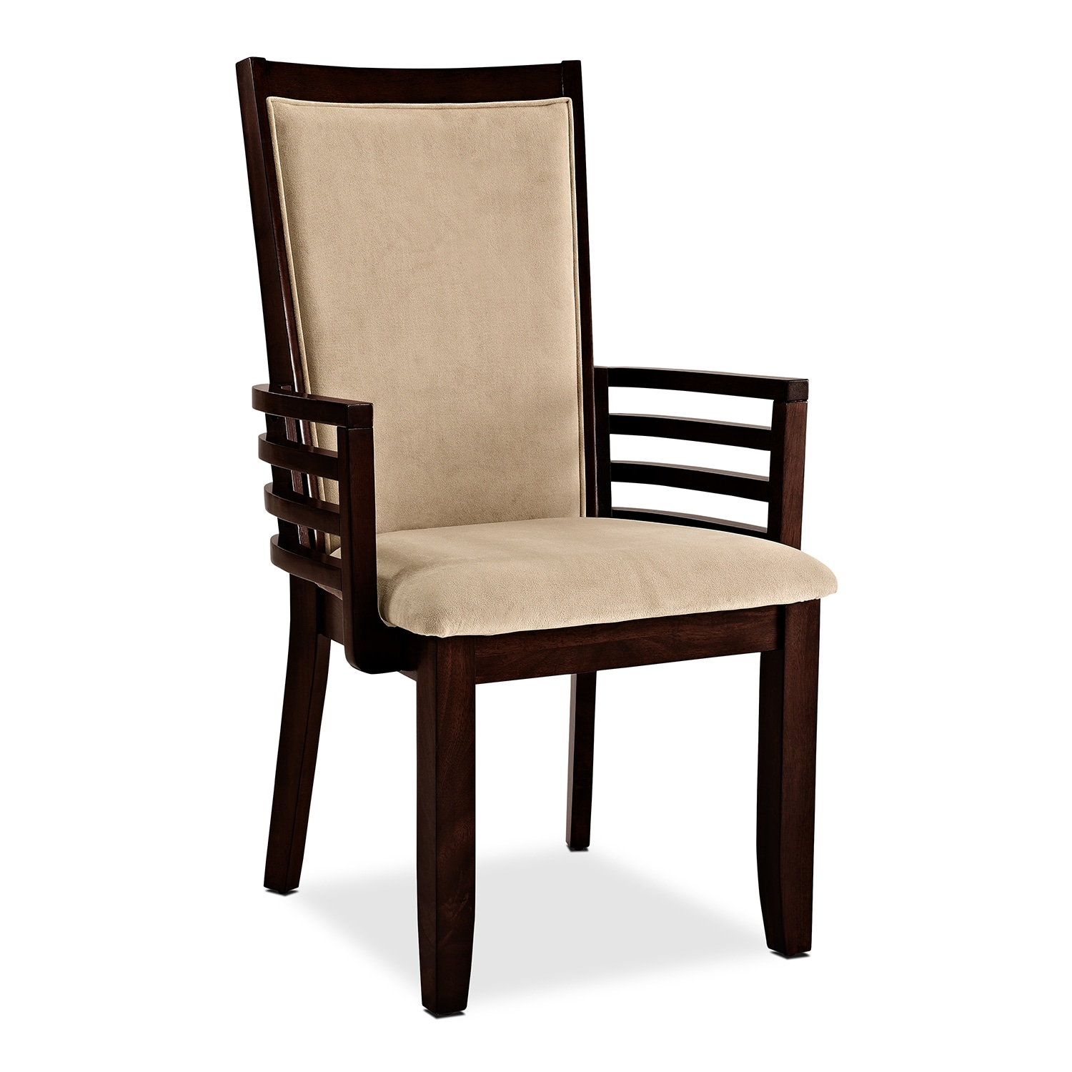 American signature furniture paragon dining room arm chair for Breakfast room chairs