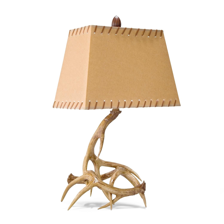 antlers table lamp value city furniture. Black Bedroom Furniture Sets. Home Design Ideas