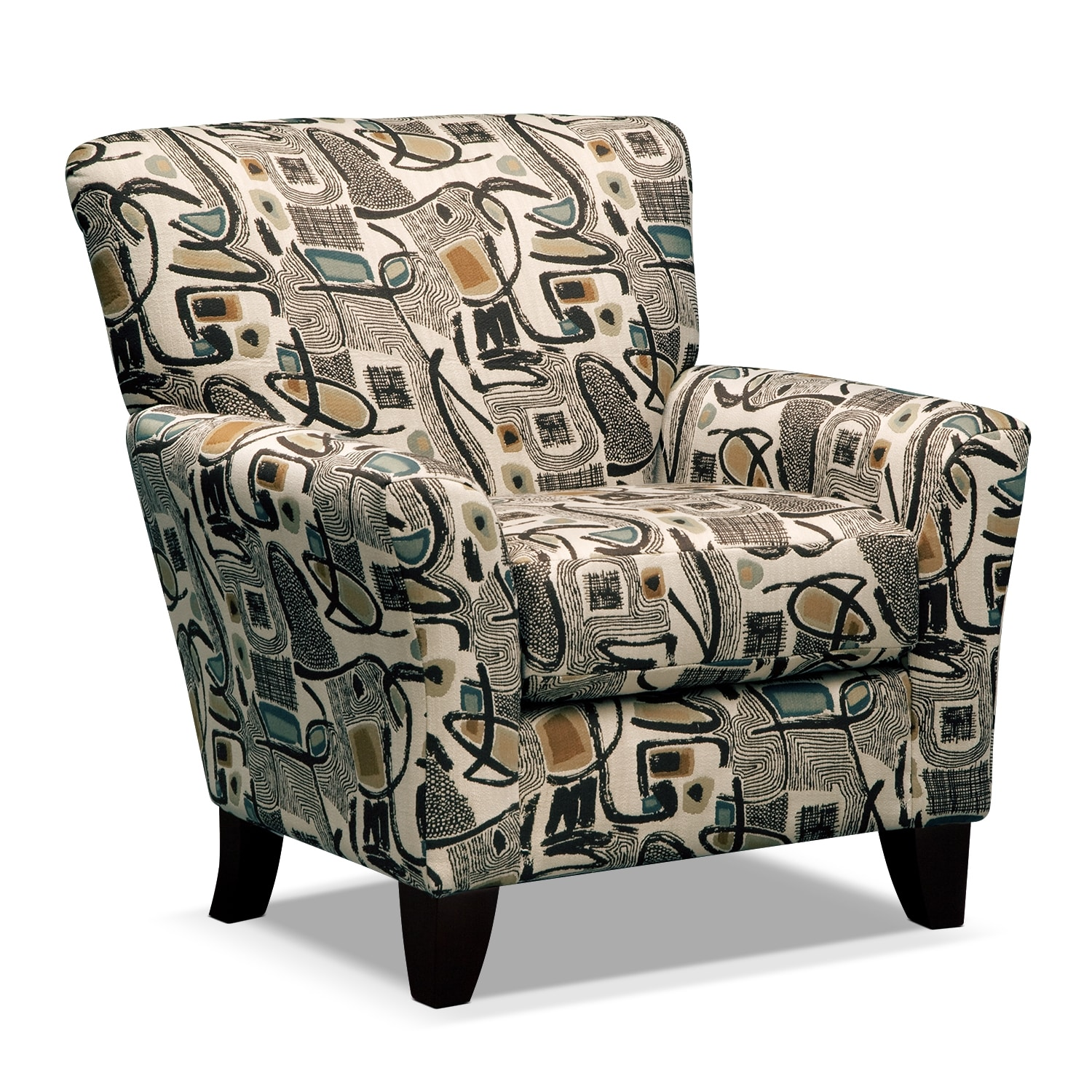 living room furniture mandalay accent chair