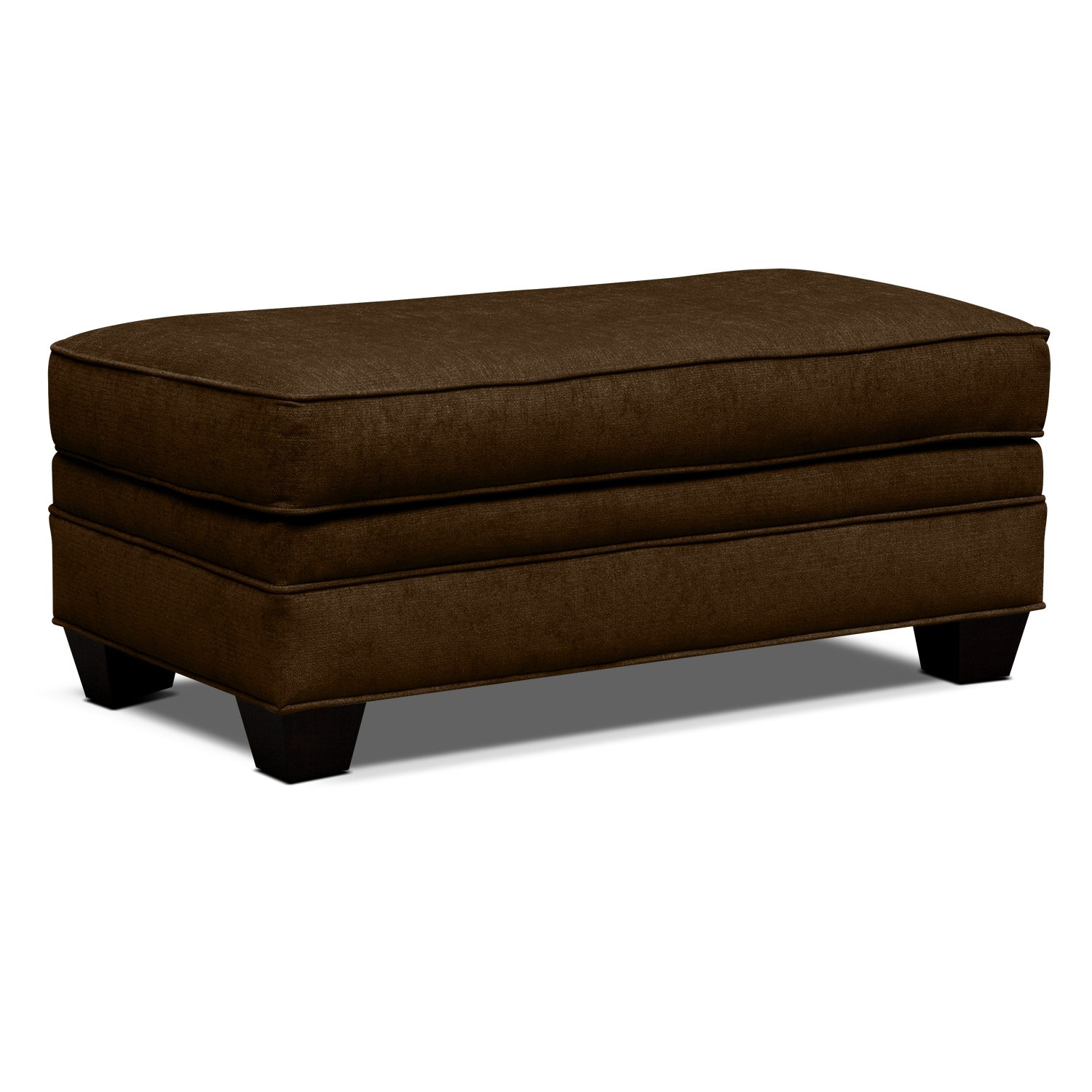 Modern twin bed with storage - Mandalay Upholstery Cocktail Ottoman Value City Furniture