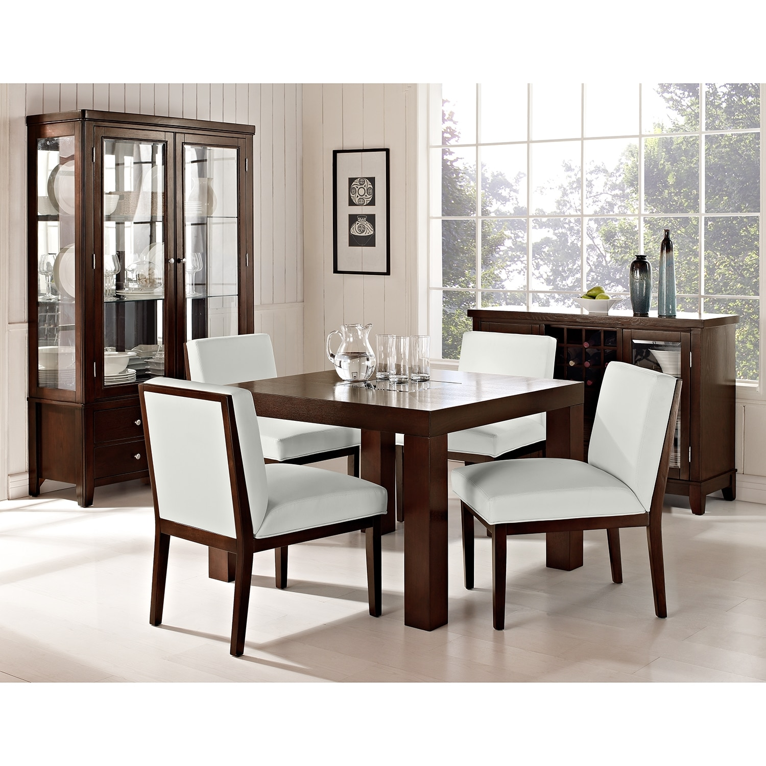 dining room furniture tango tempest ii 5 pc dinette 42 table
