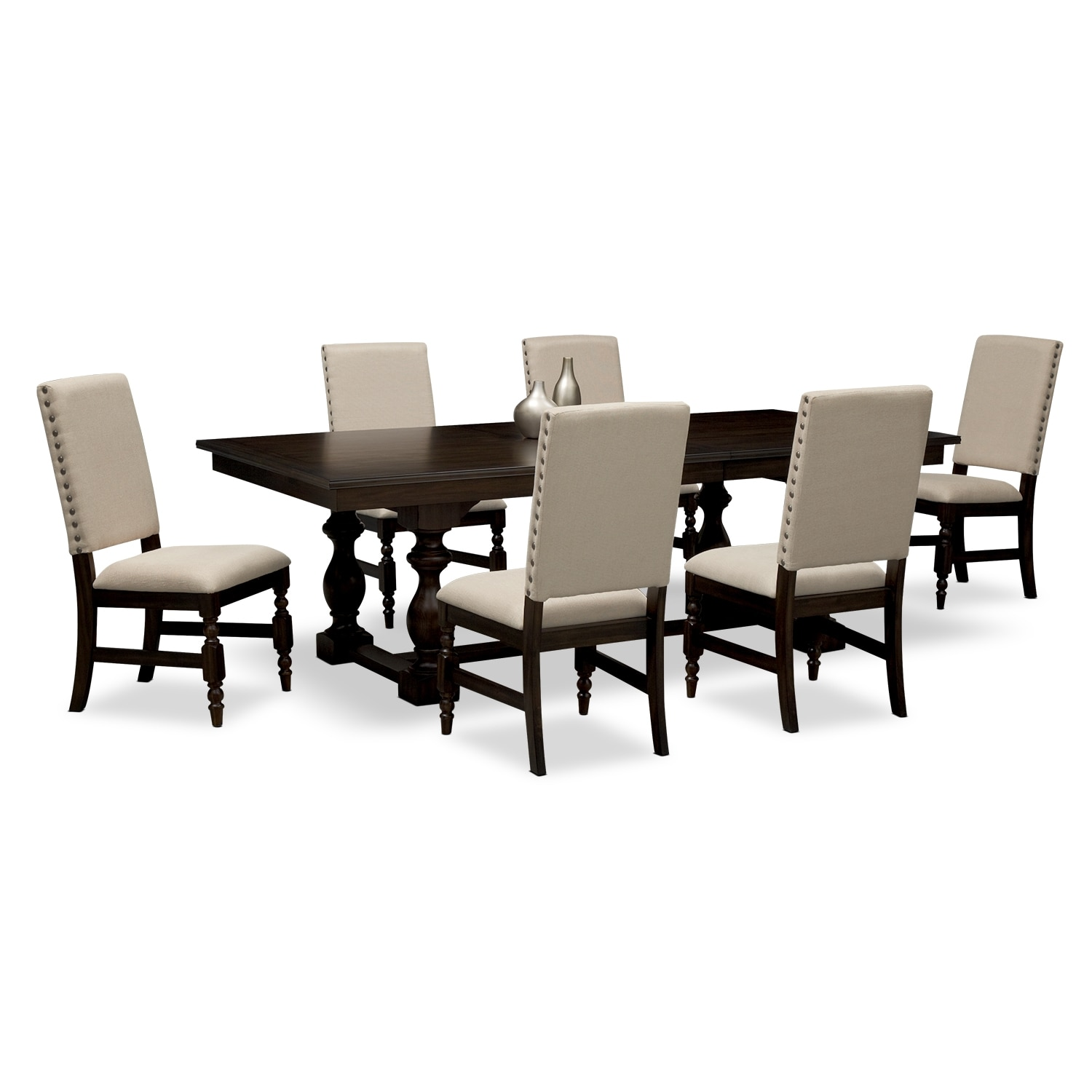 ashton dining room 7 pc dining room value city furniture