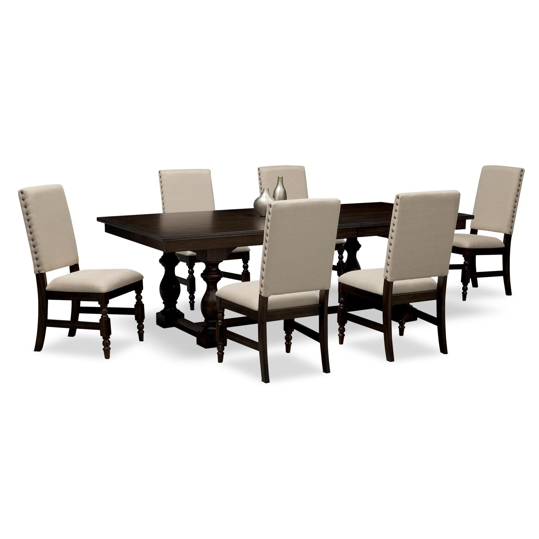 [Ashton 7 Pc. Dining Room]