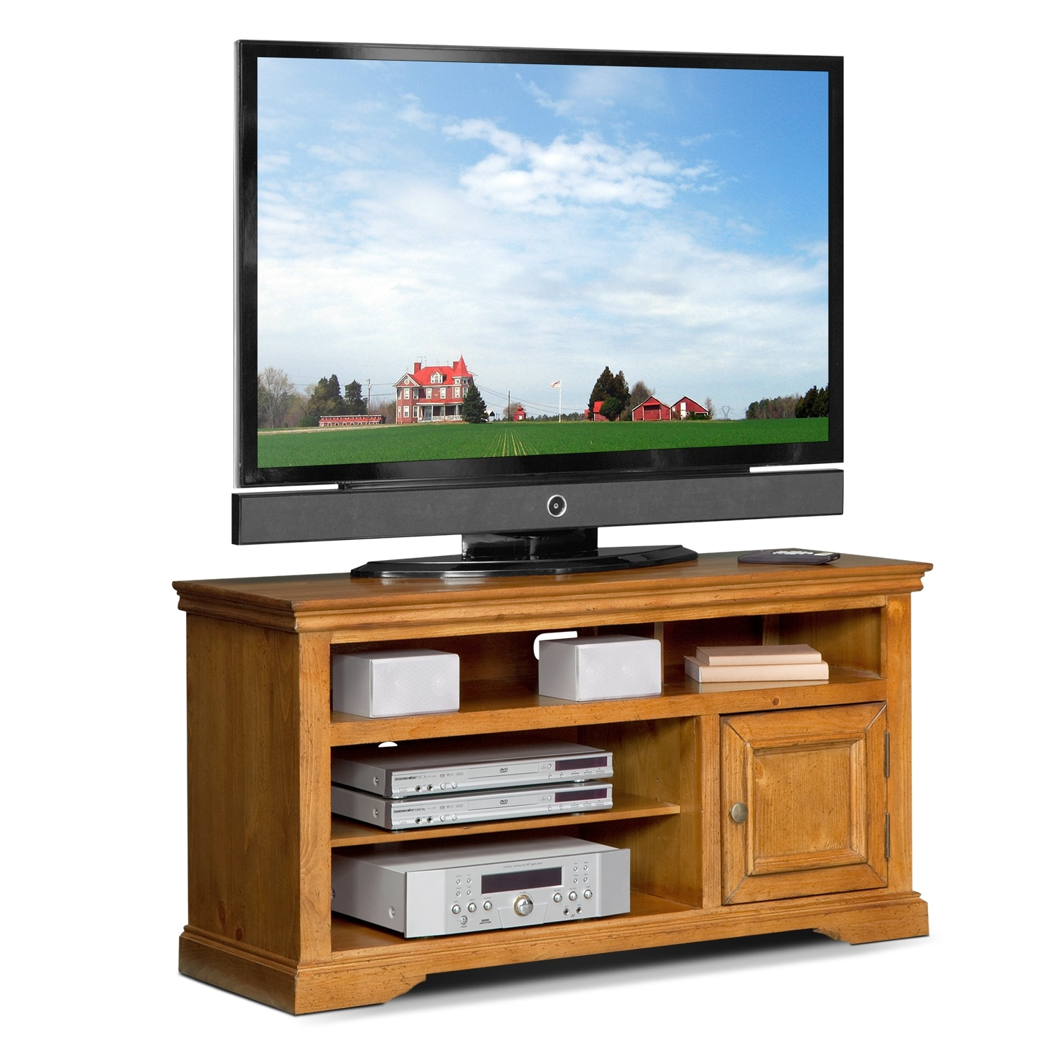 Jenson iii quot tv stand american signature furniture