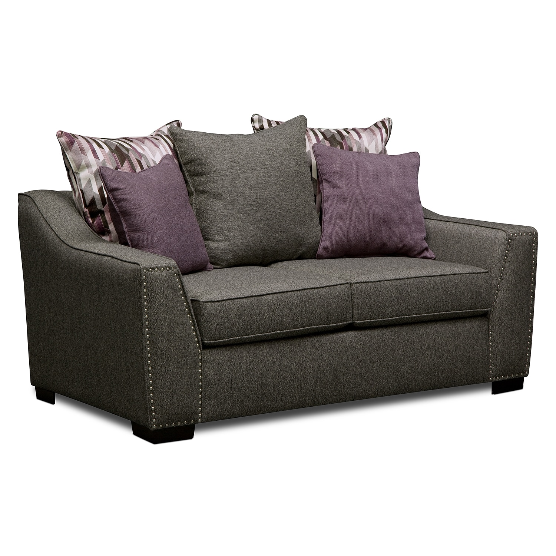 Living Room Furniture - Caterina Loveseat