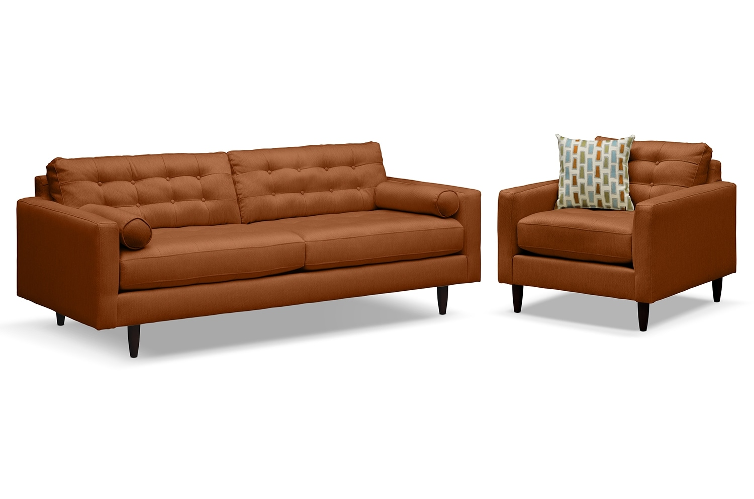 Avenue II Upholstery 2 Pc Living Room W Chair Value City Furniture