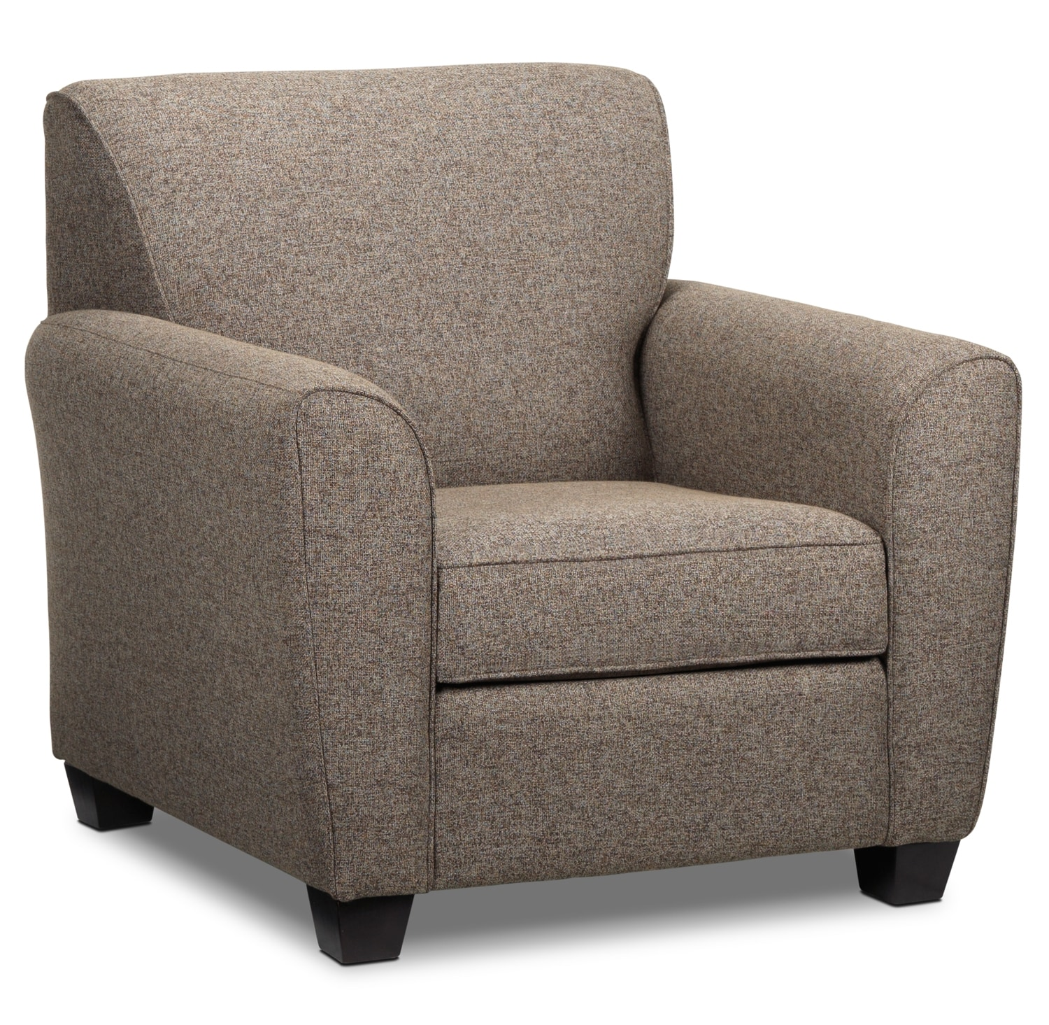 Living Room Furniture - Ashby Chair - Brown