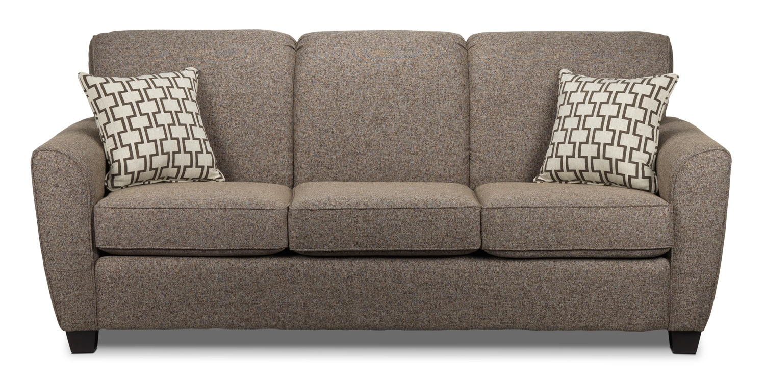 Ashby Sofa-lit grand - brun