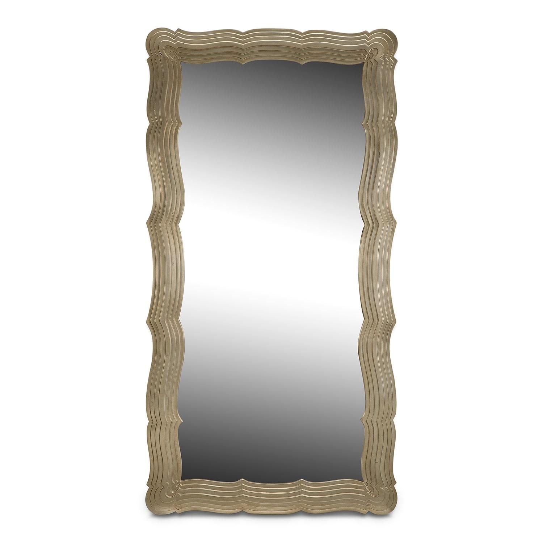 [Bella Antique Floor Mirror]