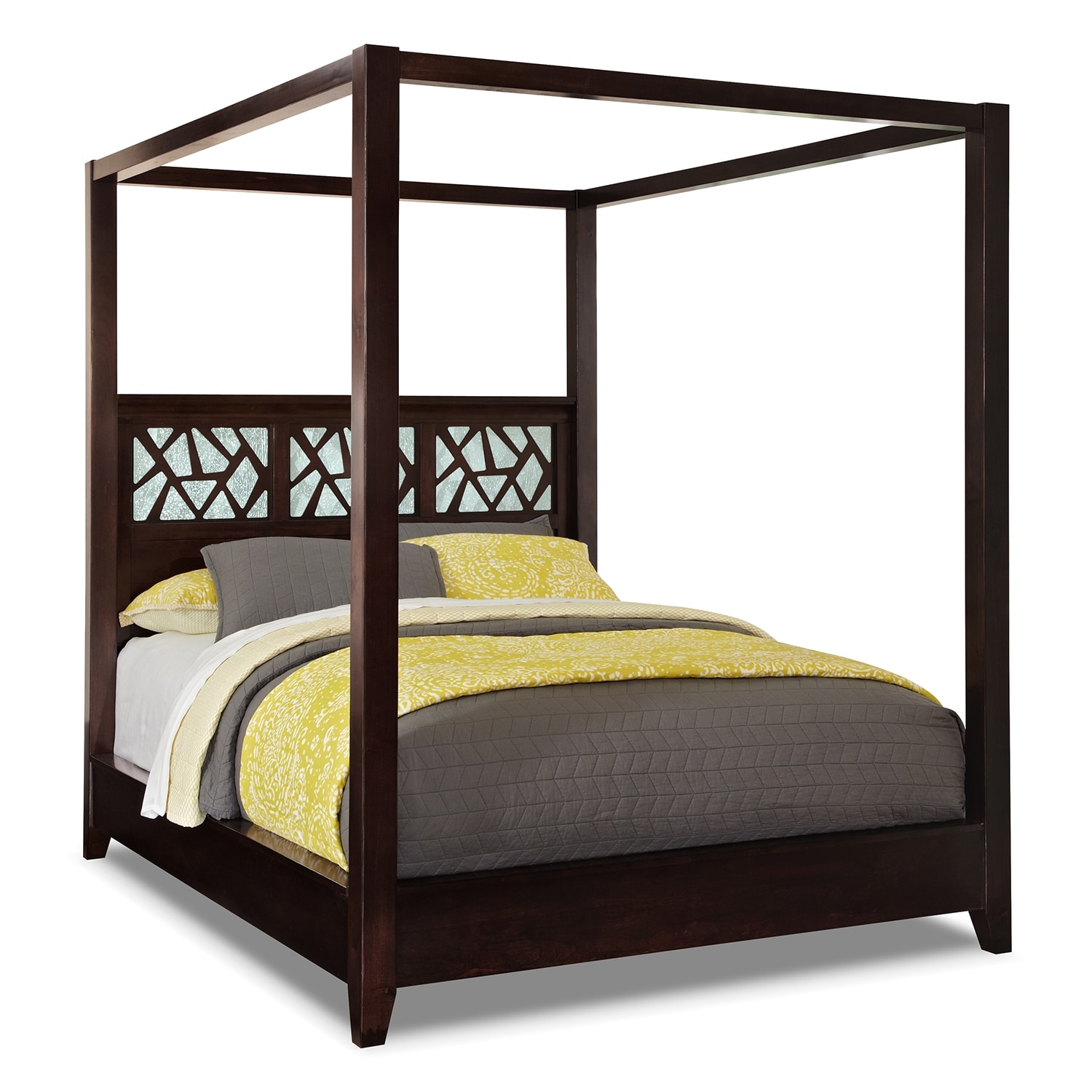 Queen Canopy Bed: Coming Soon [www.furniture.com]
