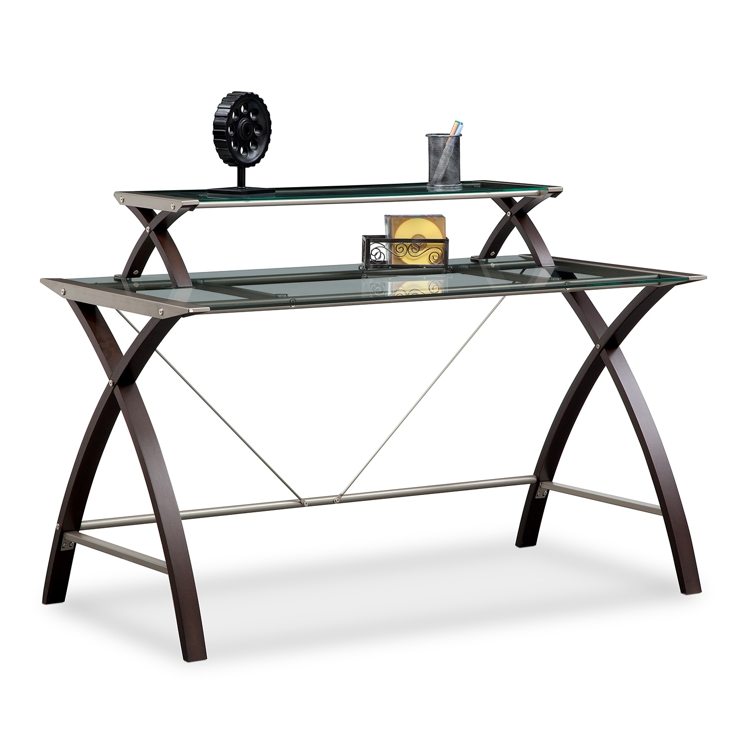 Home Office Furniture - Haley Desk with Hutch