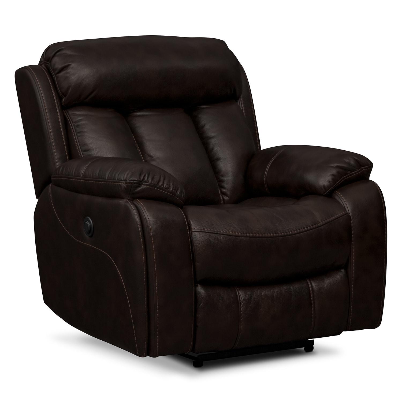 Living Room Furniture - Remington II Power Recliner