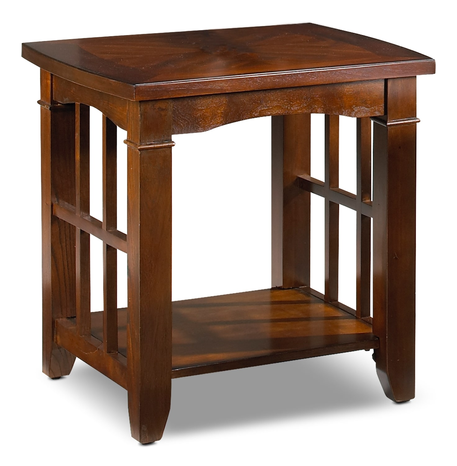 Accent and Occasional Furniture - Asher Bridge End Table - Walnut
