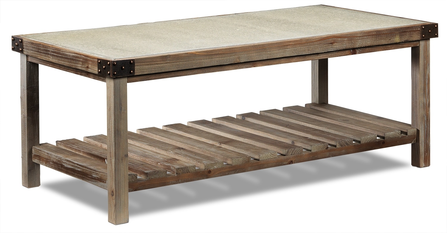 Accent and Occasional Furniture - Brisdale Coffee Table
