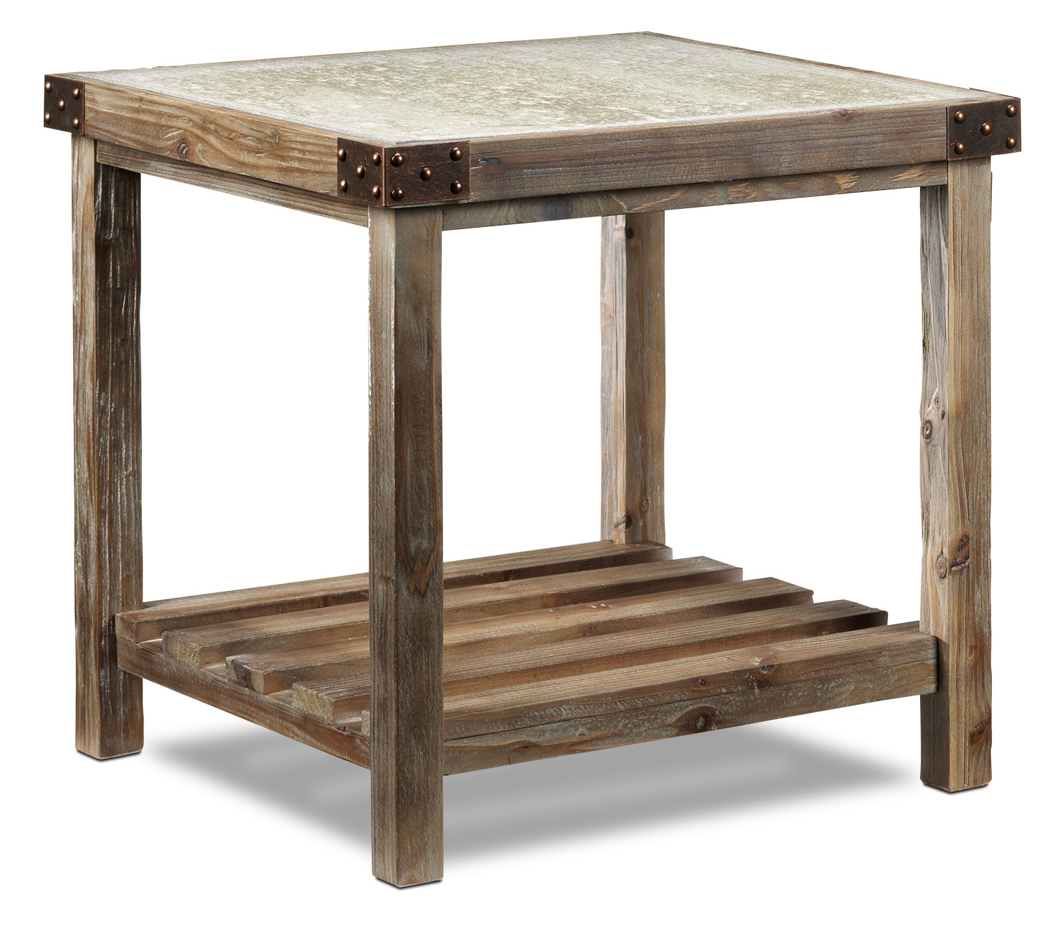 Accent and Occasional Furniture - Brisdale End Table - Natural Beige