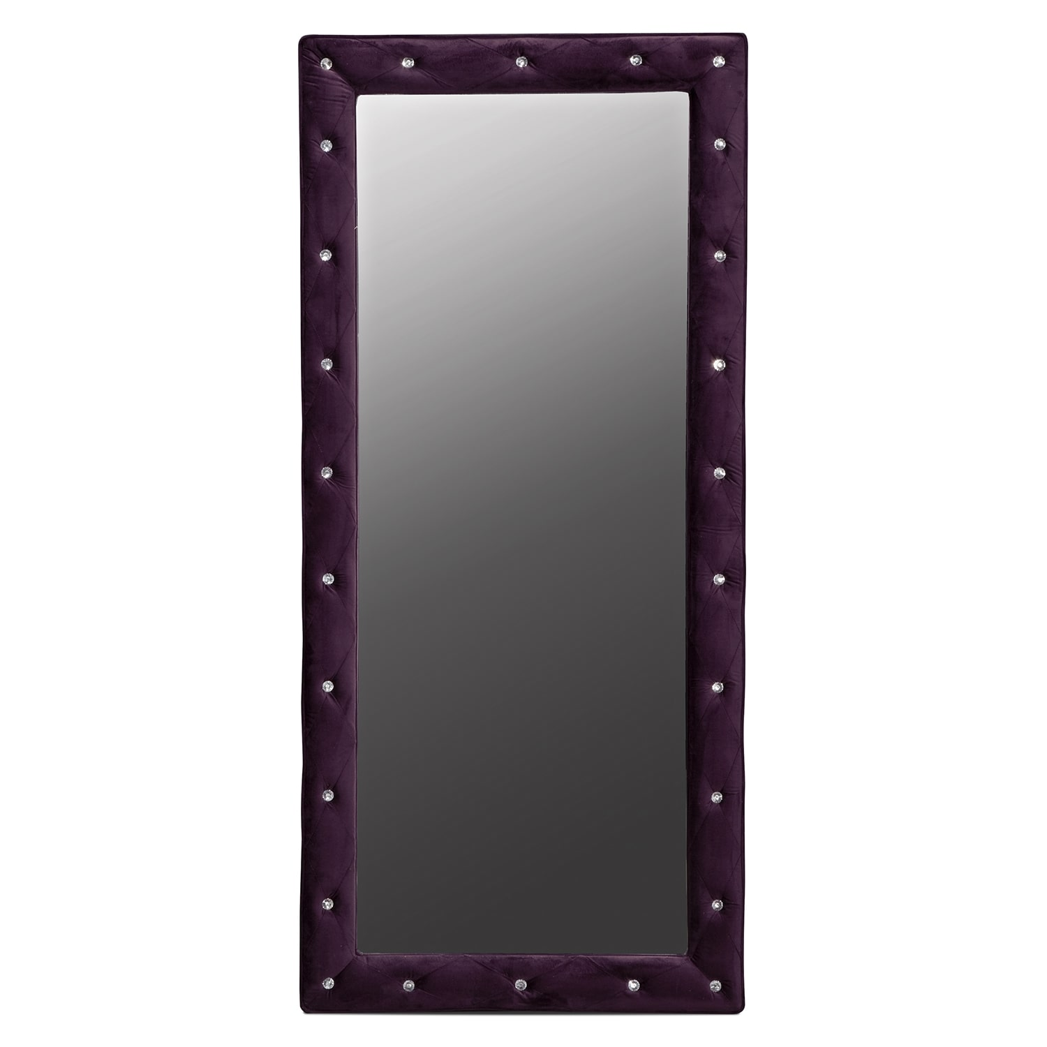 Valerie ii floor mirror value city furniture for Floor mirror