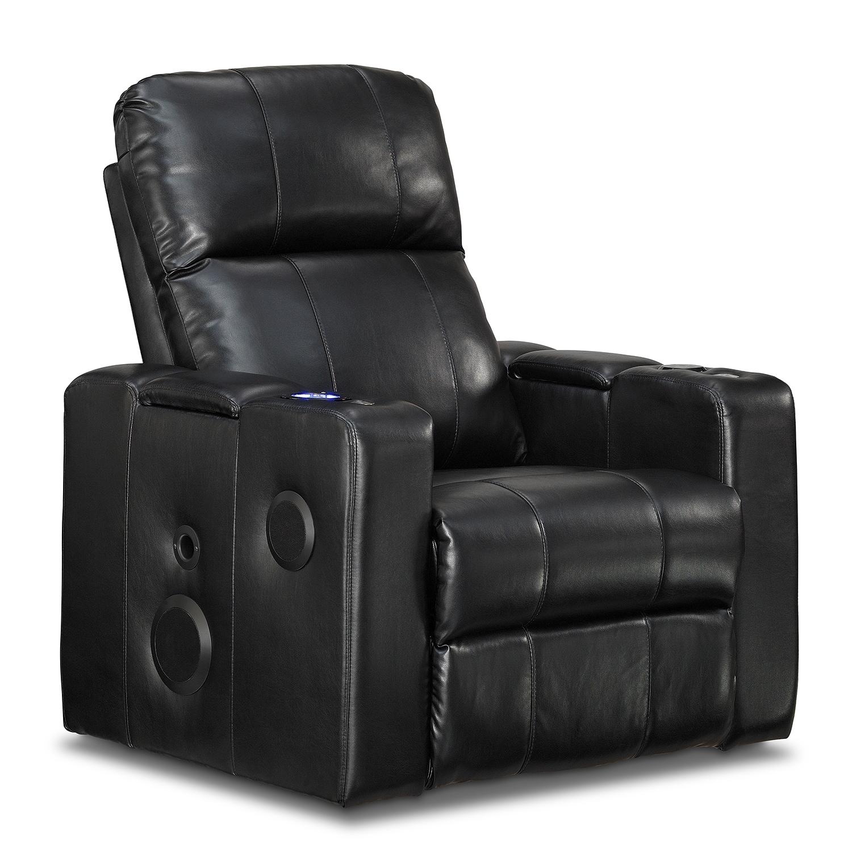 Living Room Furniture - Skylar Home Theater Recliner