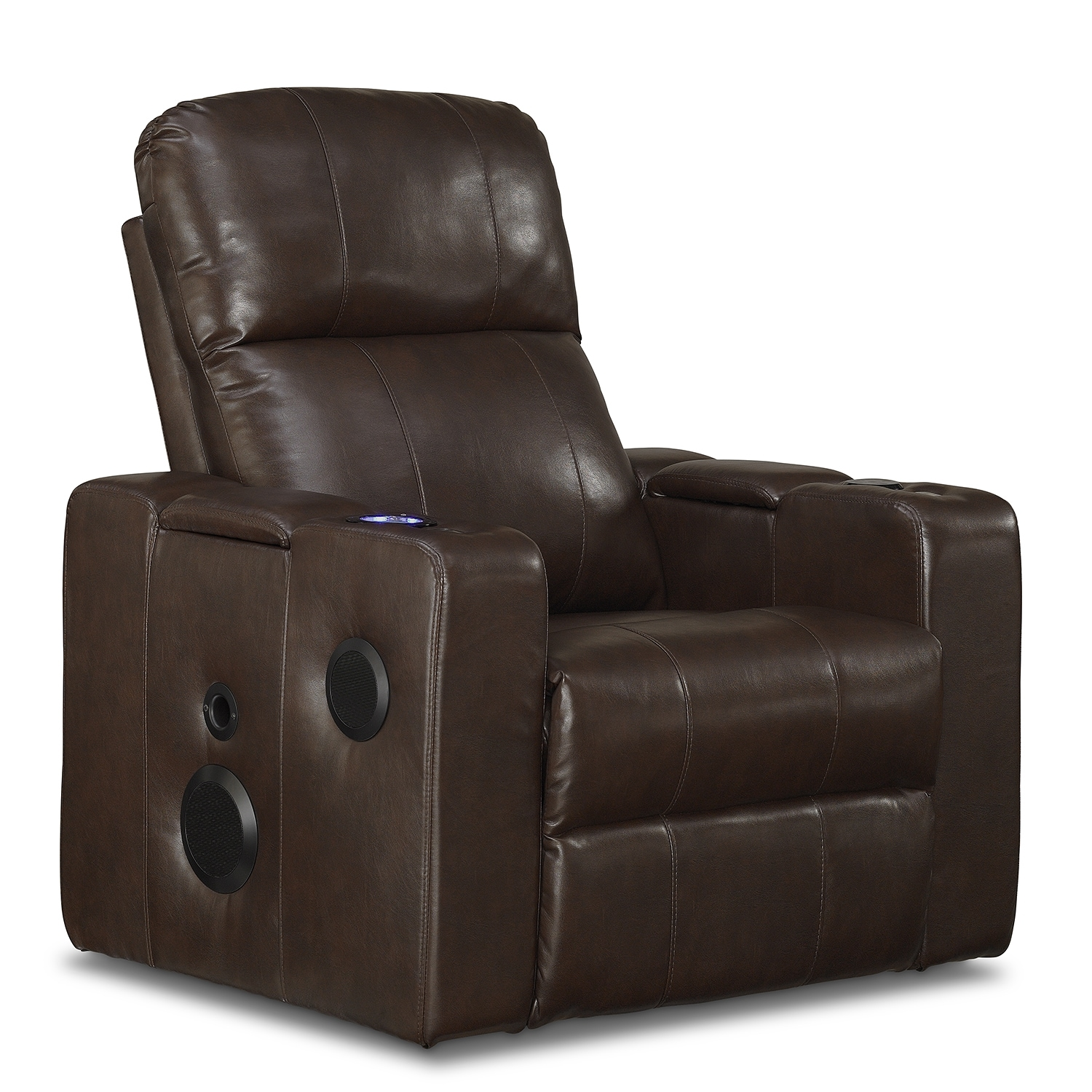 Living Room Furniture - Skylar Home Theater Recliner