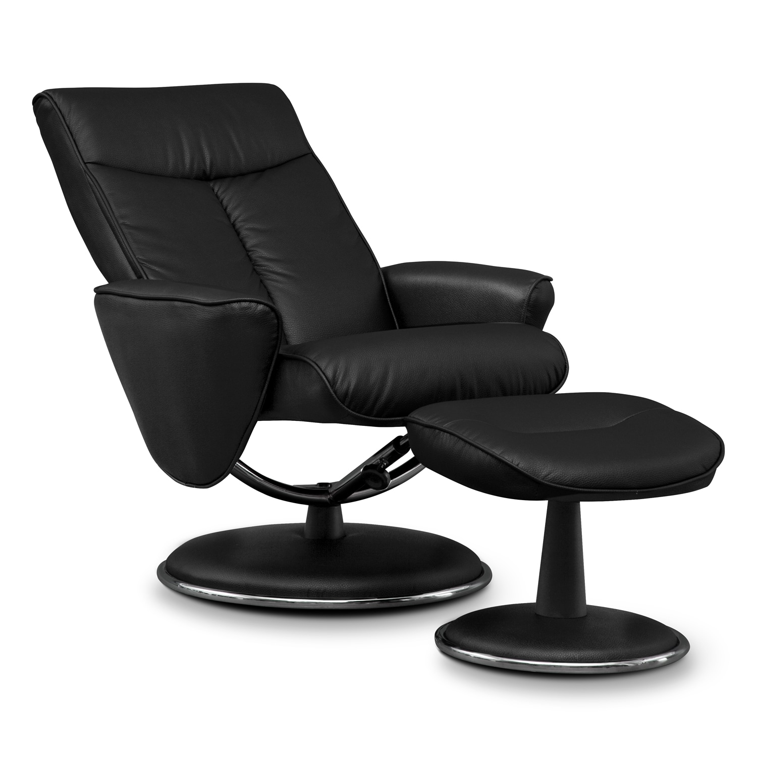 Meridien Chair And Ottoman Furniture Com
