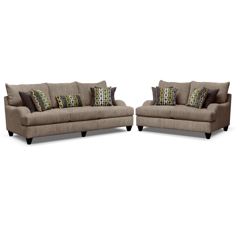 Santa Monica Upholstery 2 Pc Living Room Value City Furniture