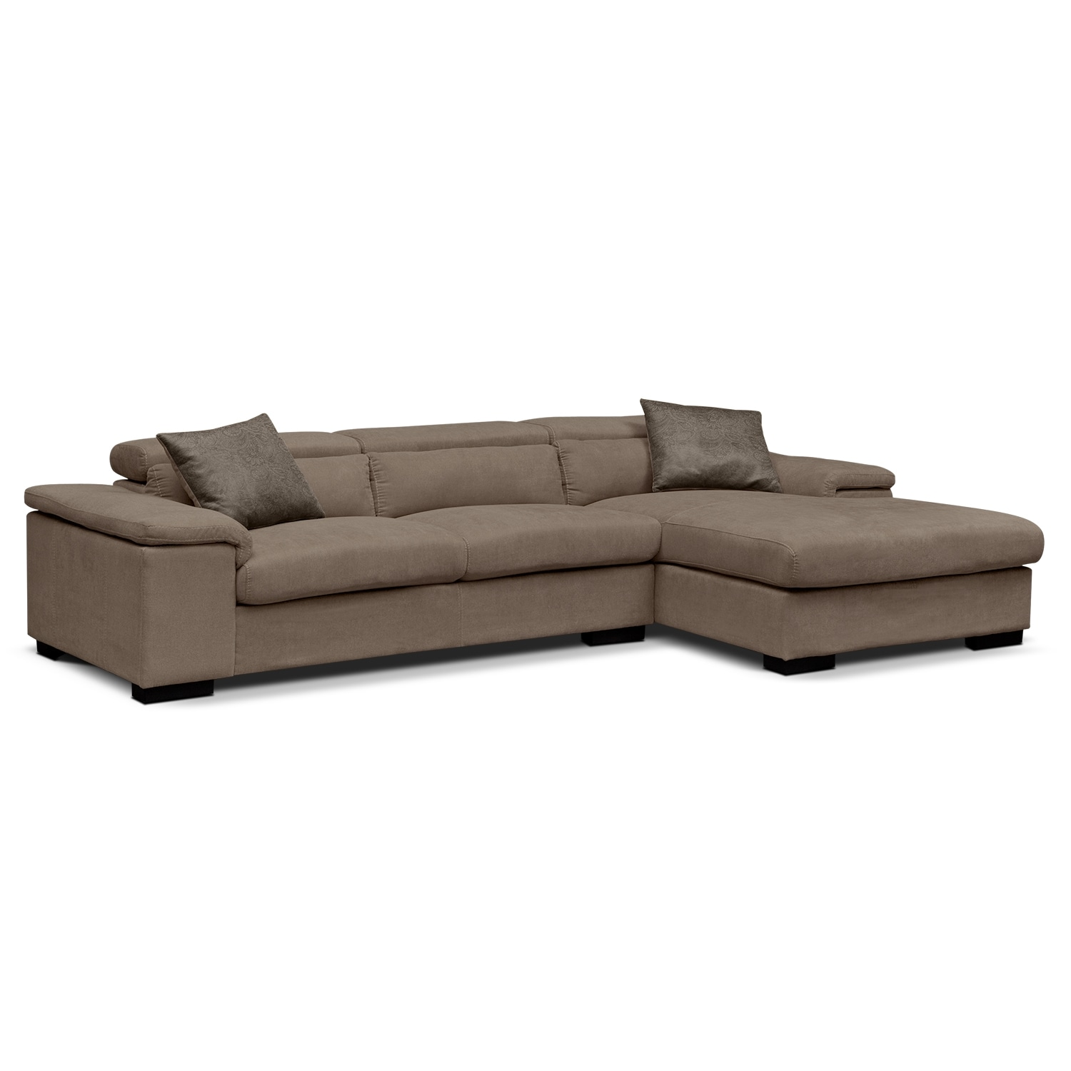 Coming soon valuecitycom for Vista chaise sectional sofa