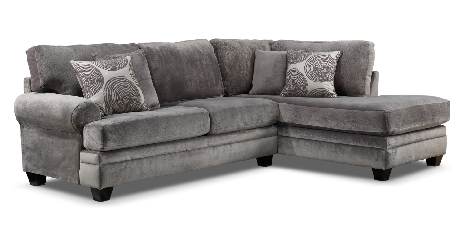Living Room Furniture - Lana 2 Pc. Sectional