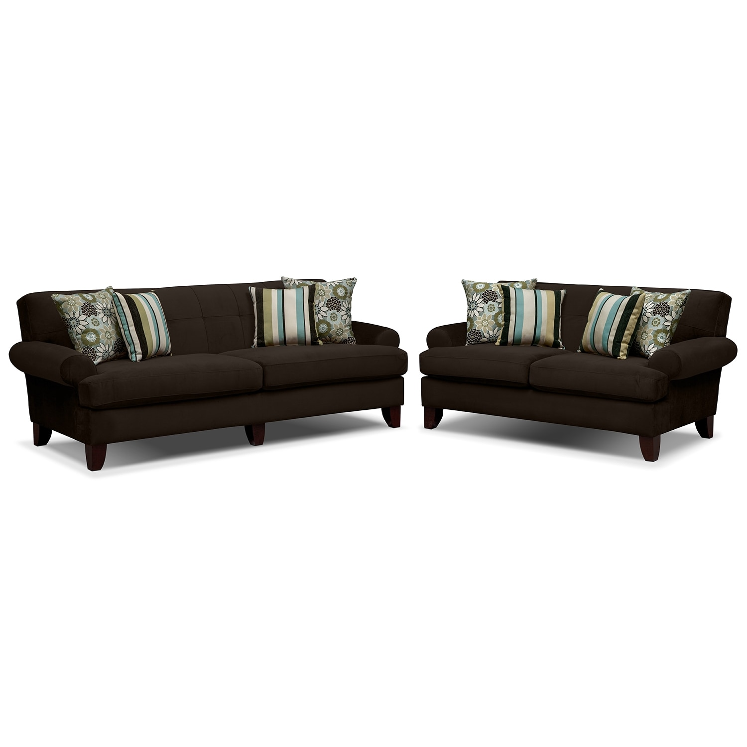 Madison Upholstery 2 Pc Living Room Value City Furniture