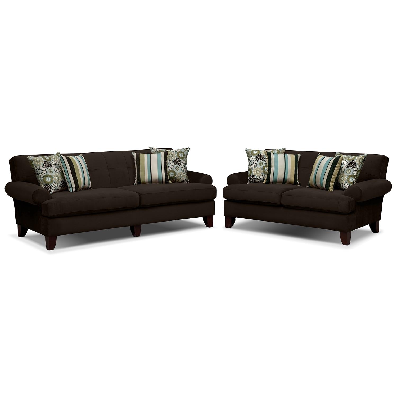 Living room furniture madison 2 pc living room