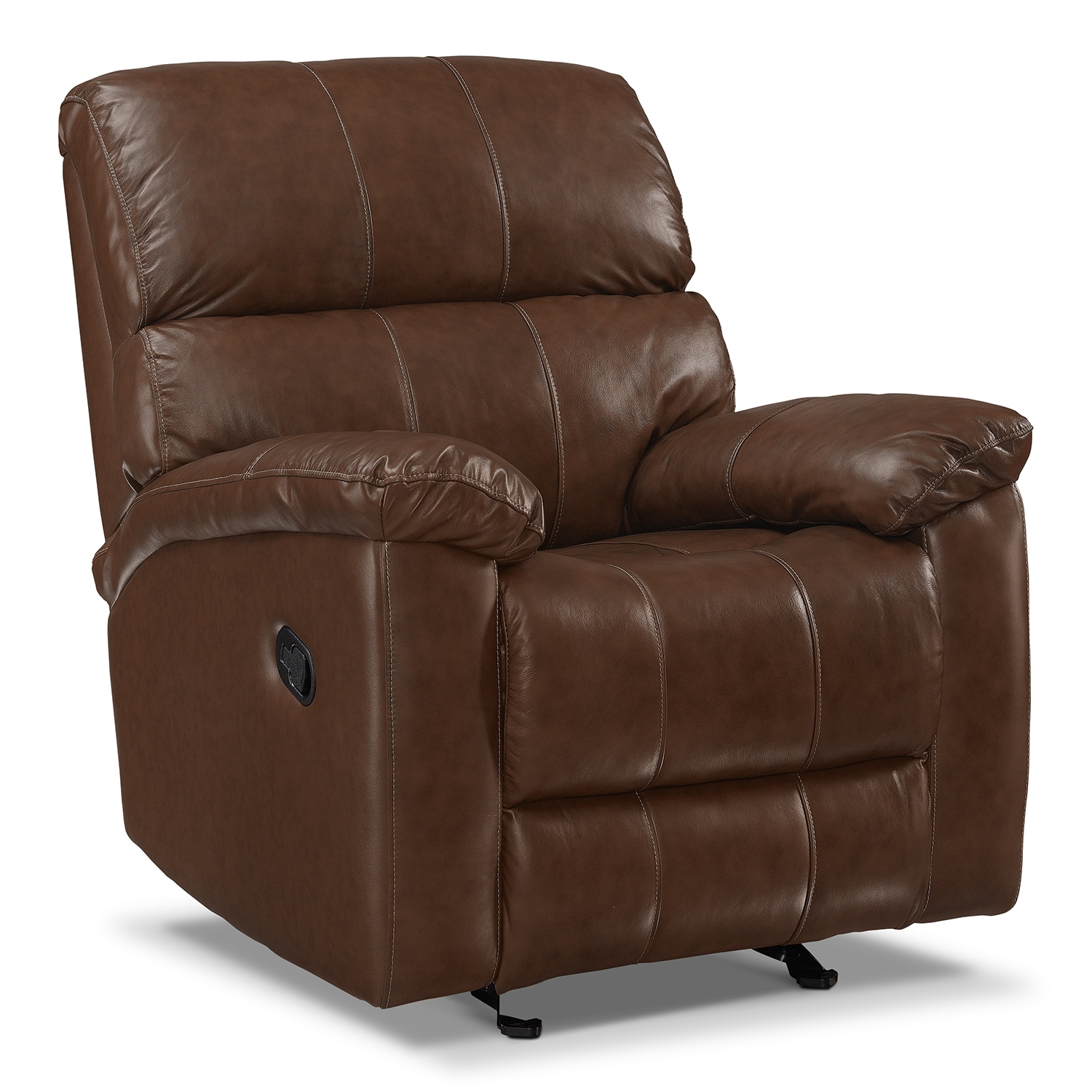 Hamilton Leather Rocker Recliner Value City Furniture