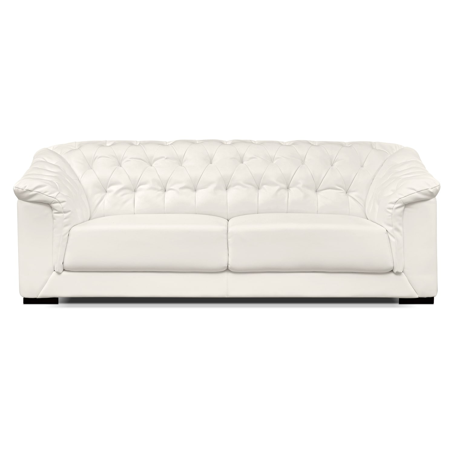 Living Room Furniture-Carmen White Sofa