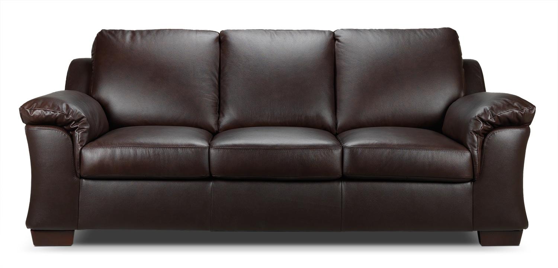 [Aspen Sofa - Chocolate]