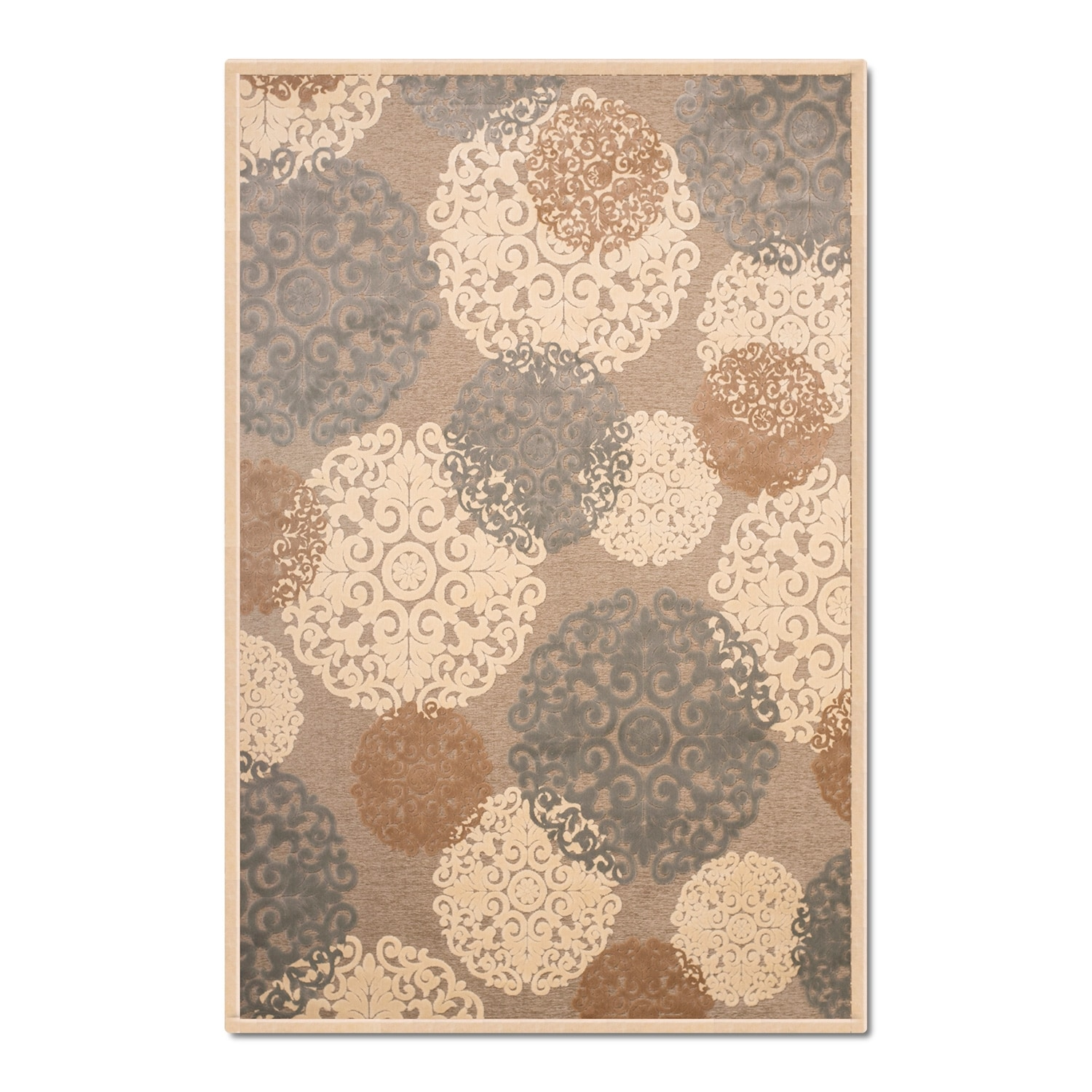Napa Light Snowflakes Area Rug 8 X 10 Value City