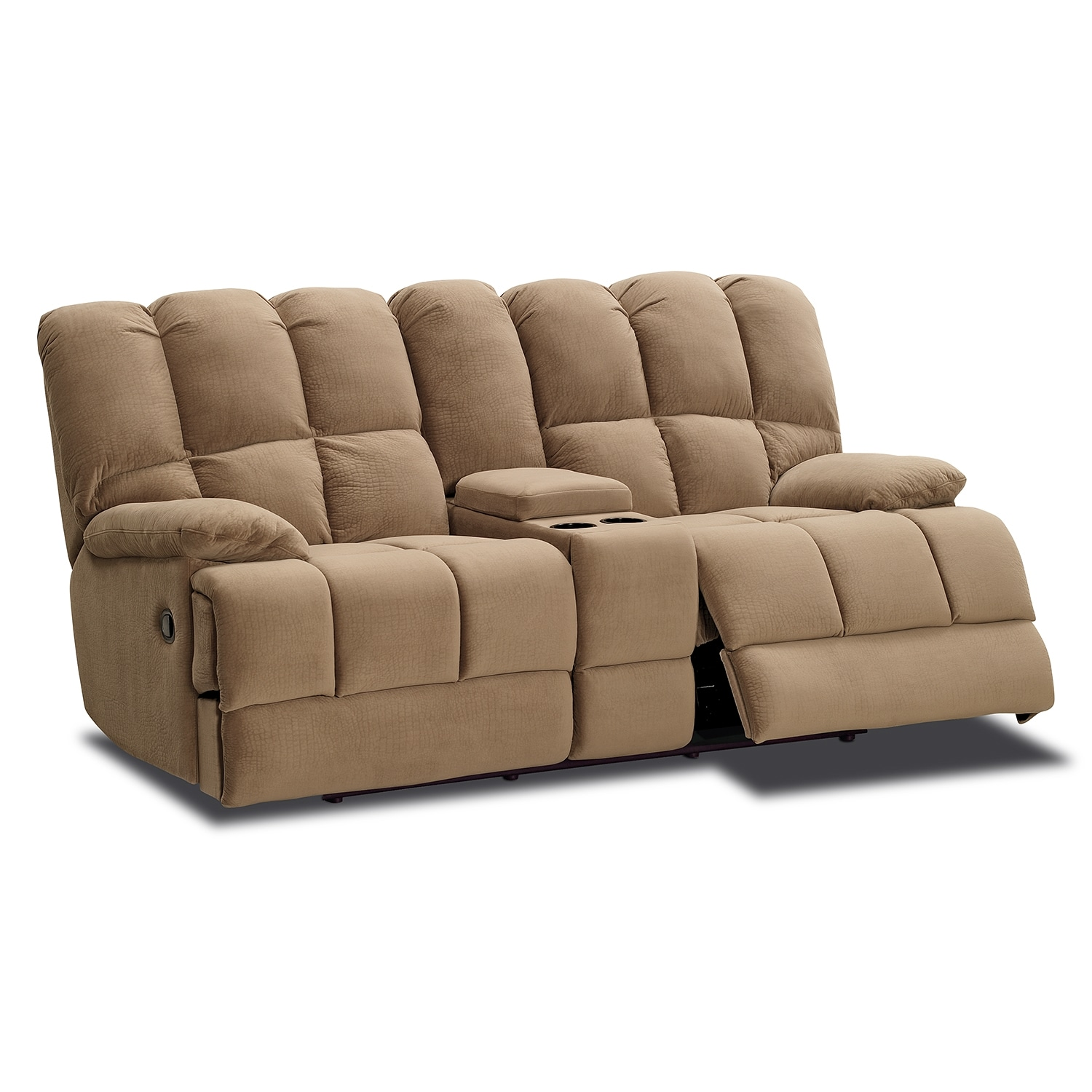 Microfiber Dual Reclining Sofa 100 Leons Recliners Sanford Love Seat Power Recliner Leathe 100