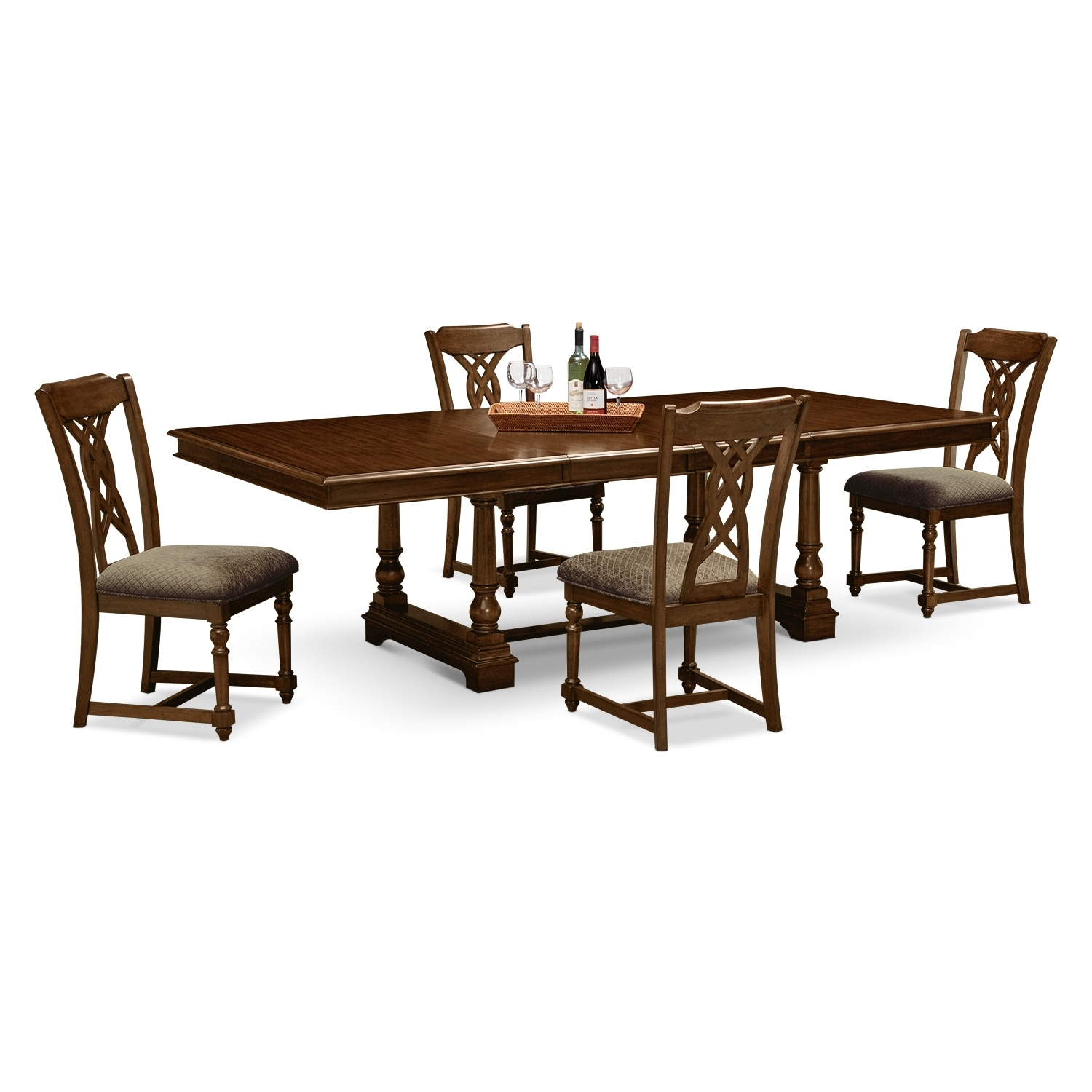 Montrose dining room 5 pc dinette value city furniture for Dining room furniture specials