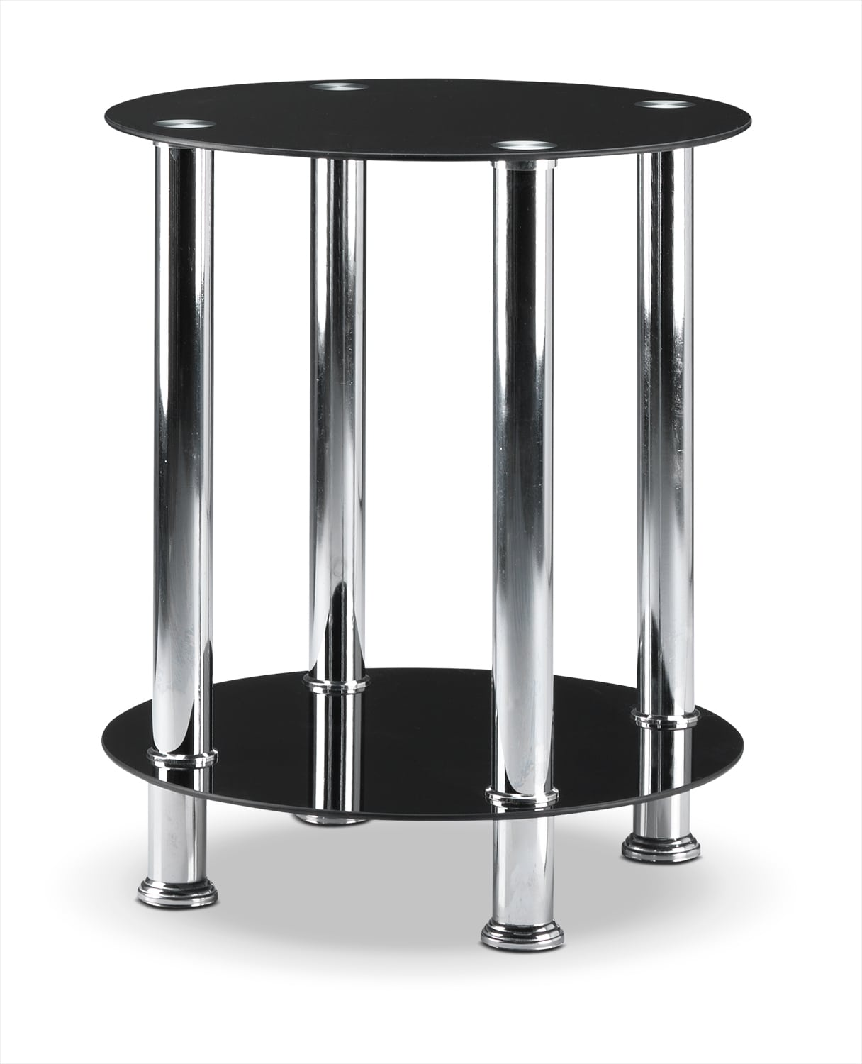 Accent and Occasional Furniture - Oriana End Table - Black