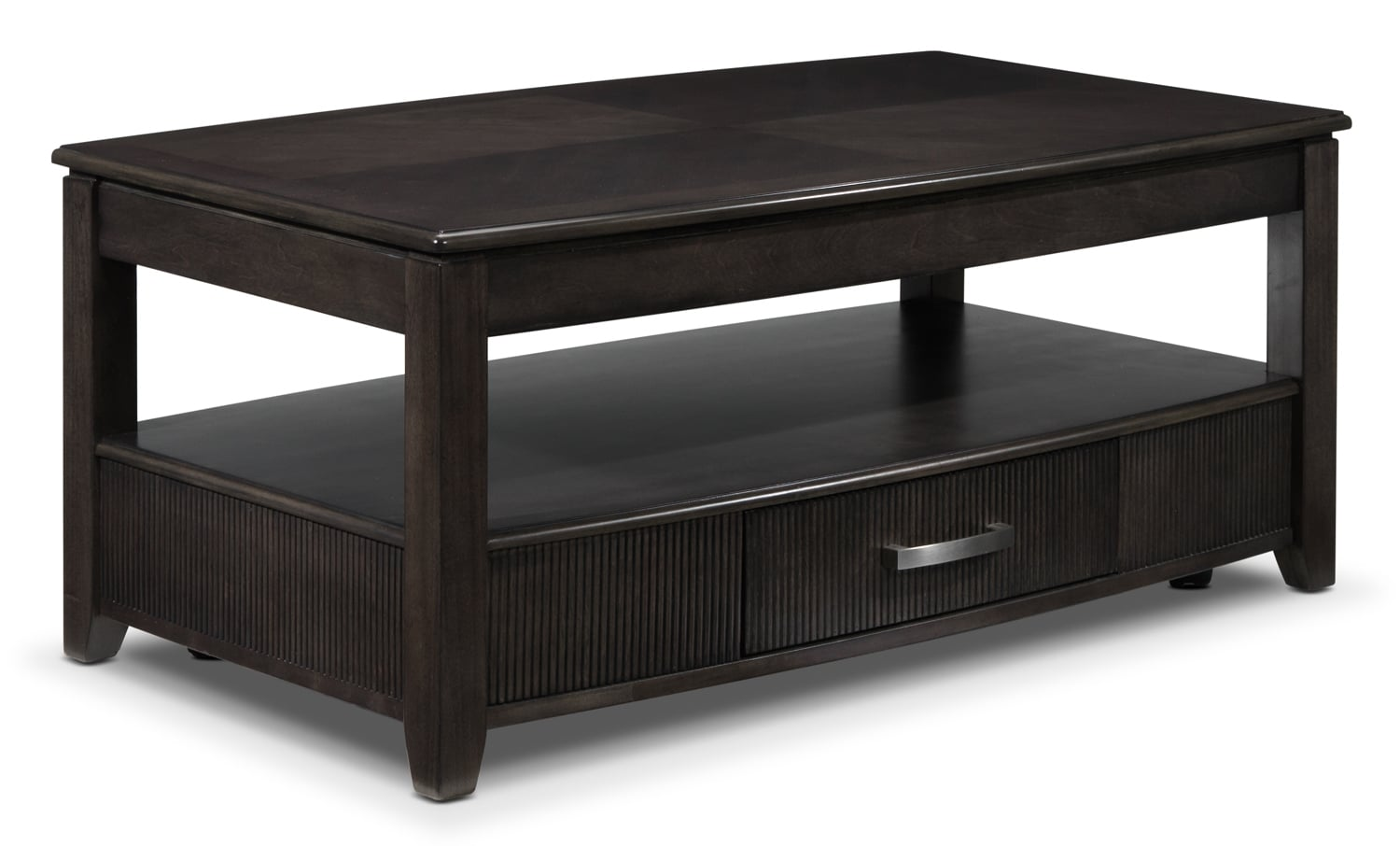 Accent and Occasional Furniture - Joanna Lift-Top Coffee Table - Ash