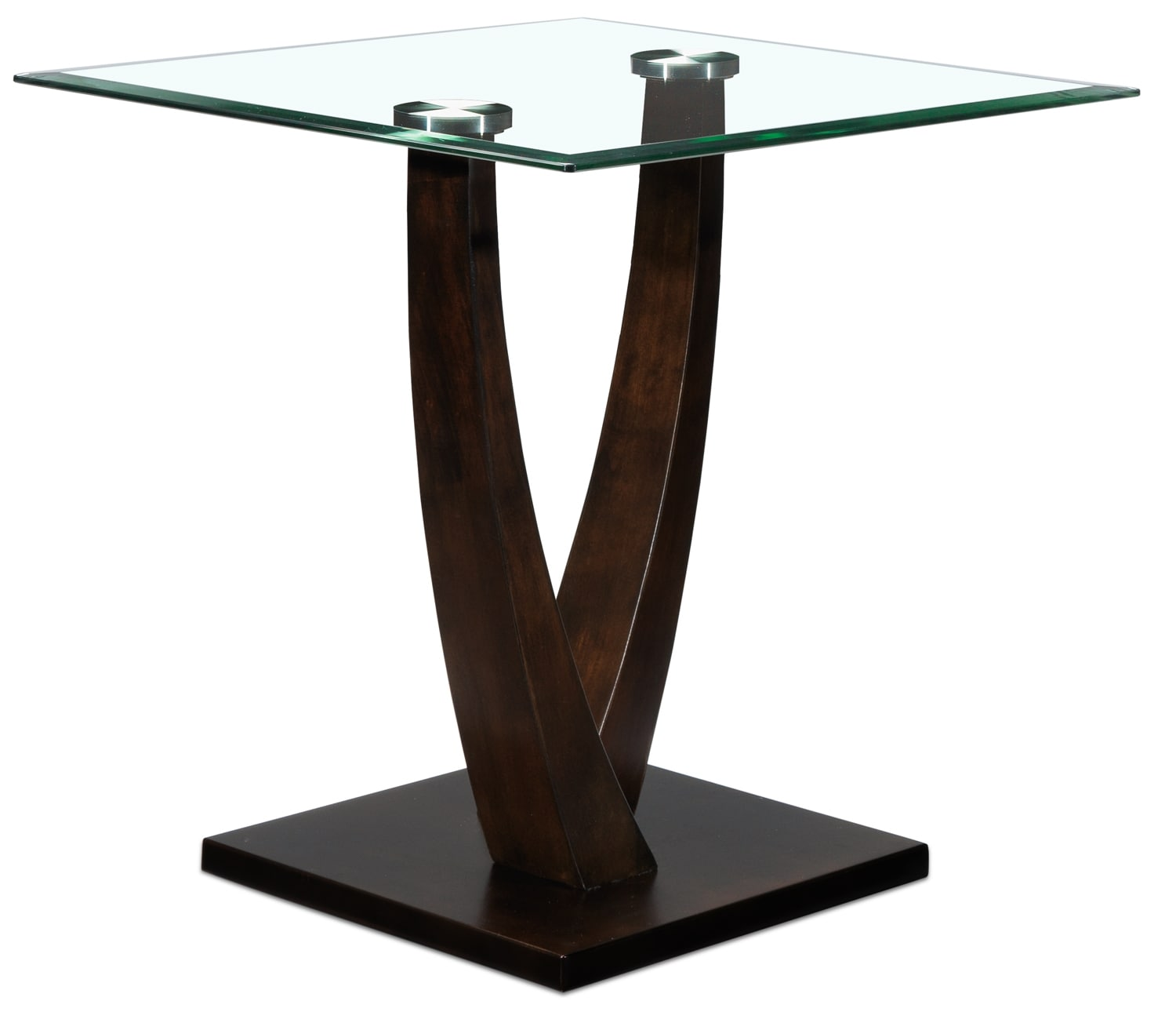 Caprice End Table - Espresso