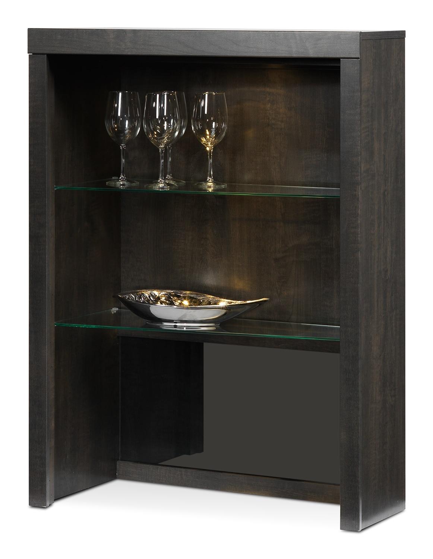 Entertainment Furniture - Lakeshore Left Hutch - Charcoal