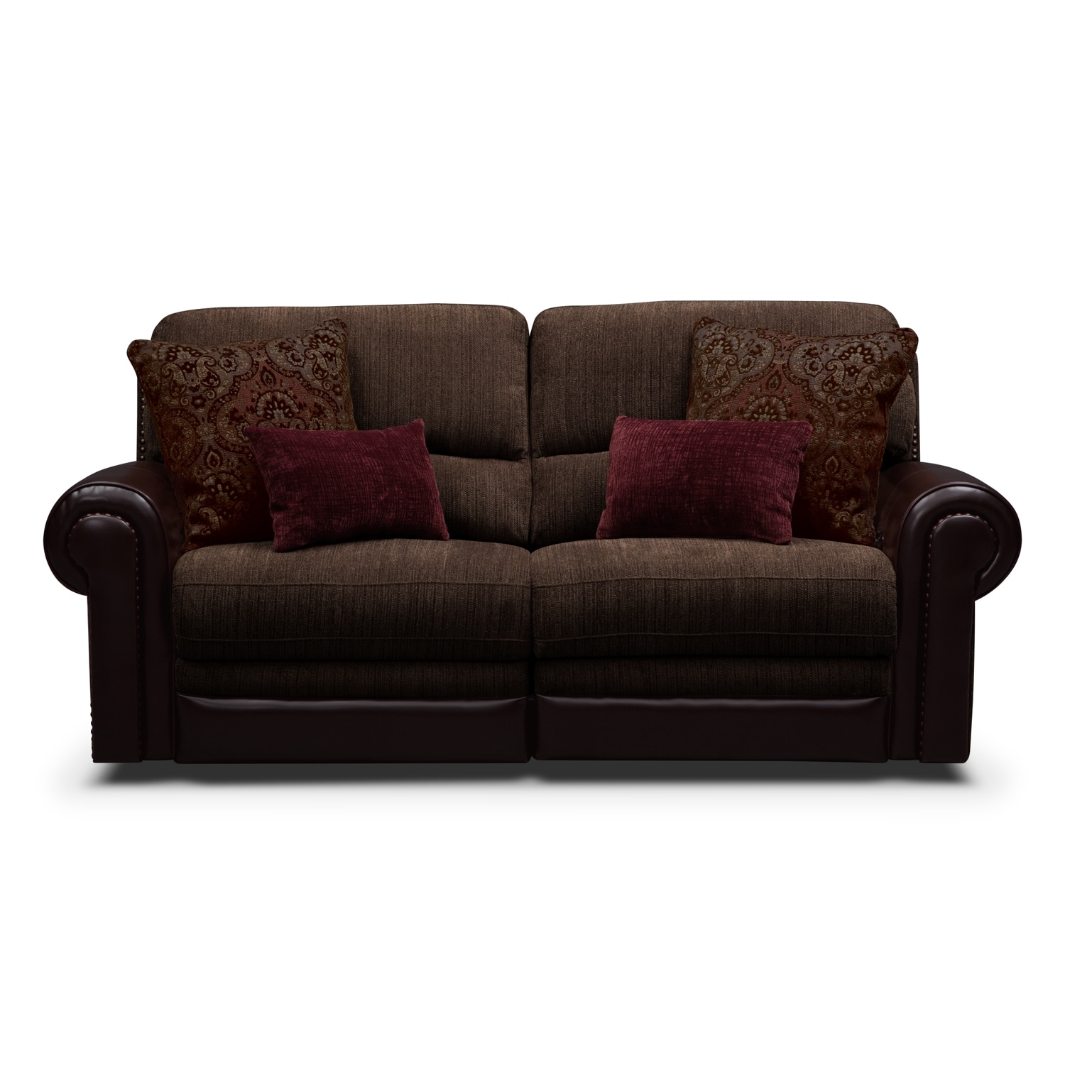 Prescott Upholstery 2 Pc Power Reclining Sofa Value
