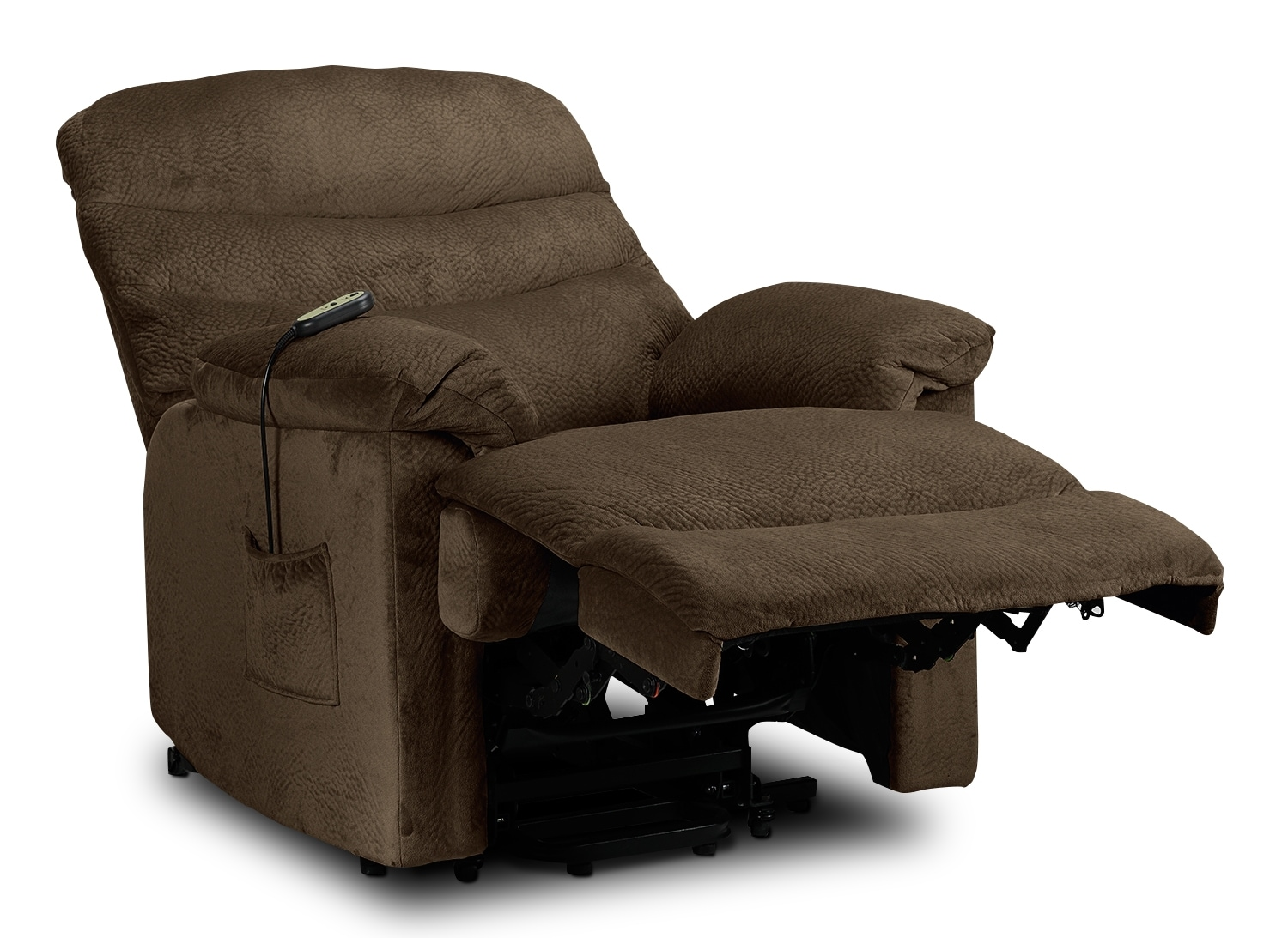 Bradey Power Lift Recliner Mocha Leon 39 S