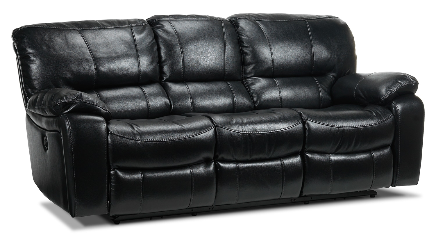 Santorini Power Reclining Sofa - Black
