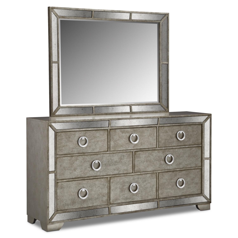 [Angelina Dresser & Mirror]