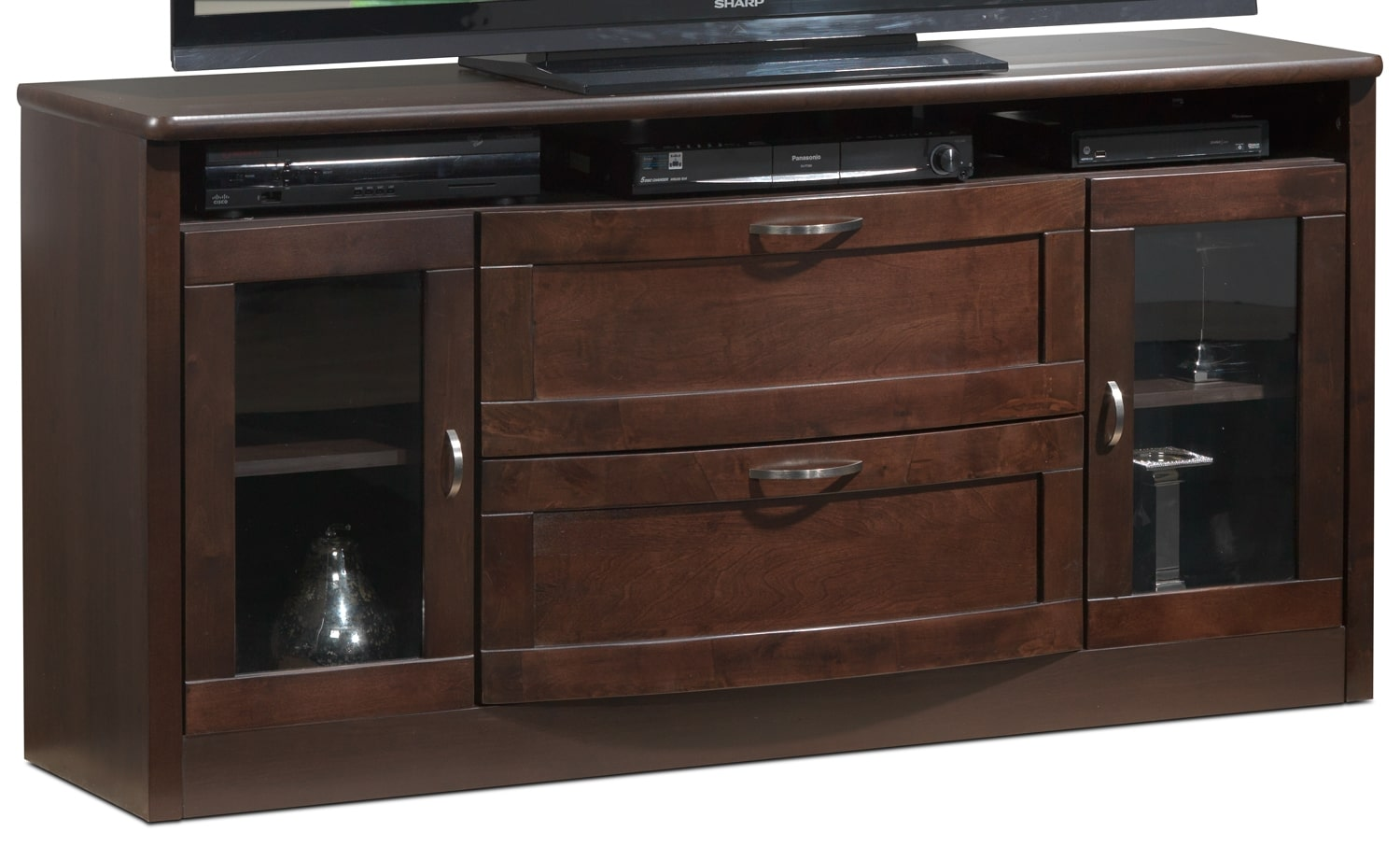 Huxley TV Stand - Java Maple