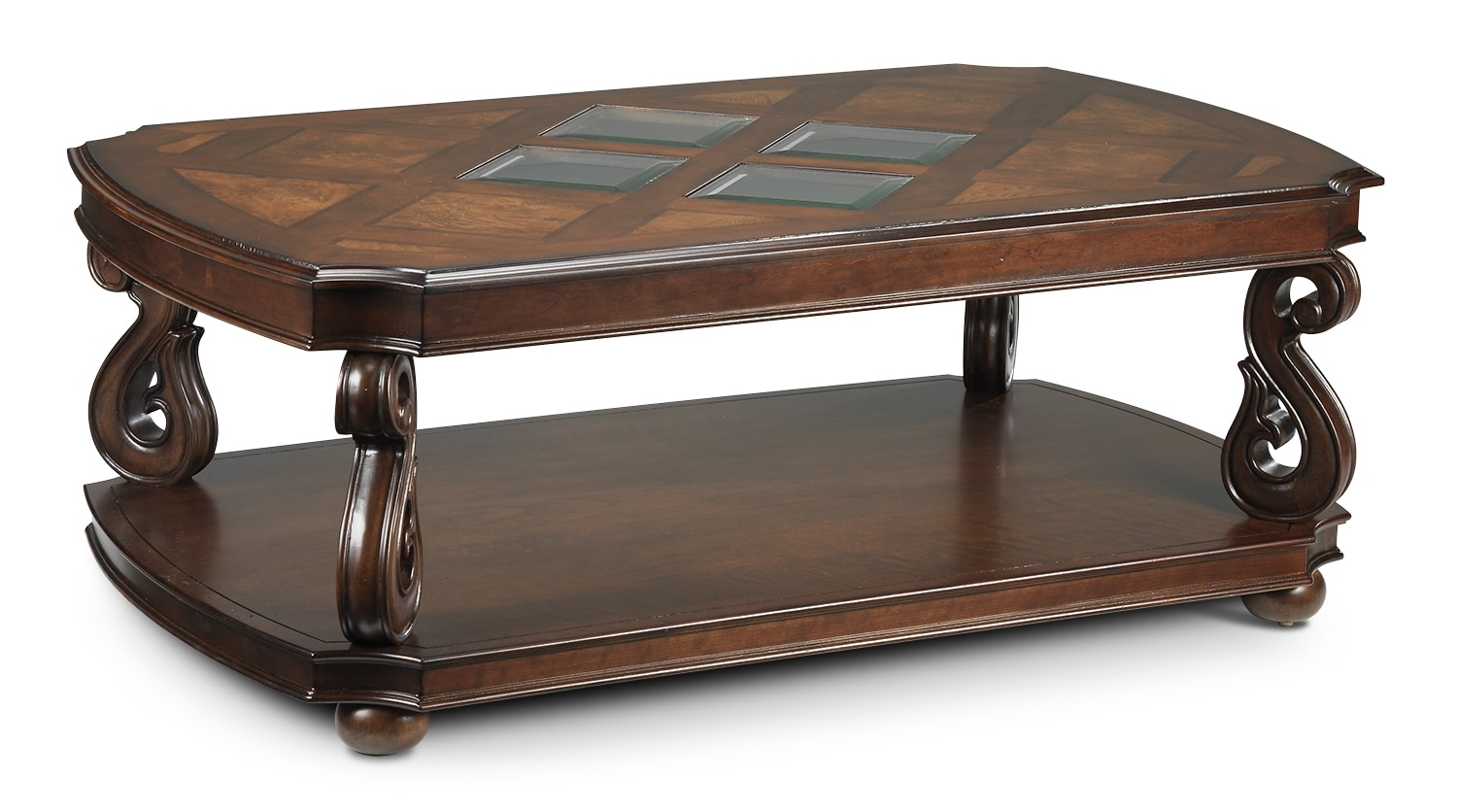 Harcourt Coffee Table - Cherry