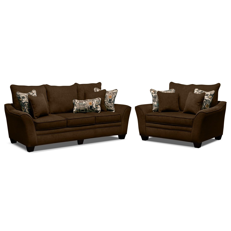 Living room furniture mandalay 2 pc living room wchair