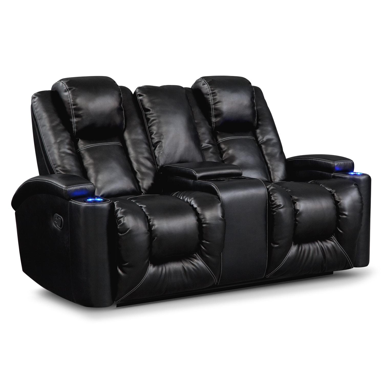Living Room Furniture - Frisco Gliding Reclining Loveseat