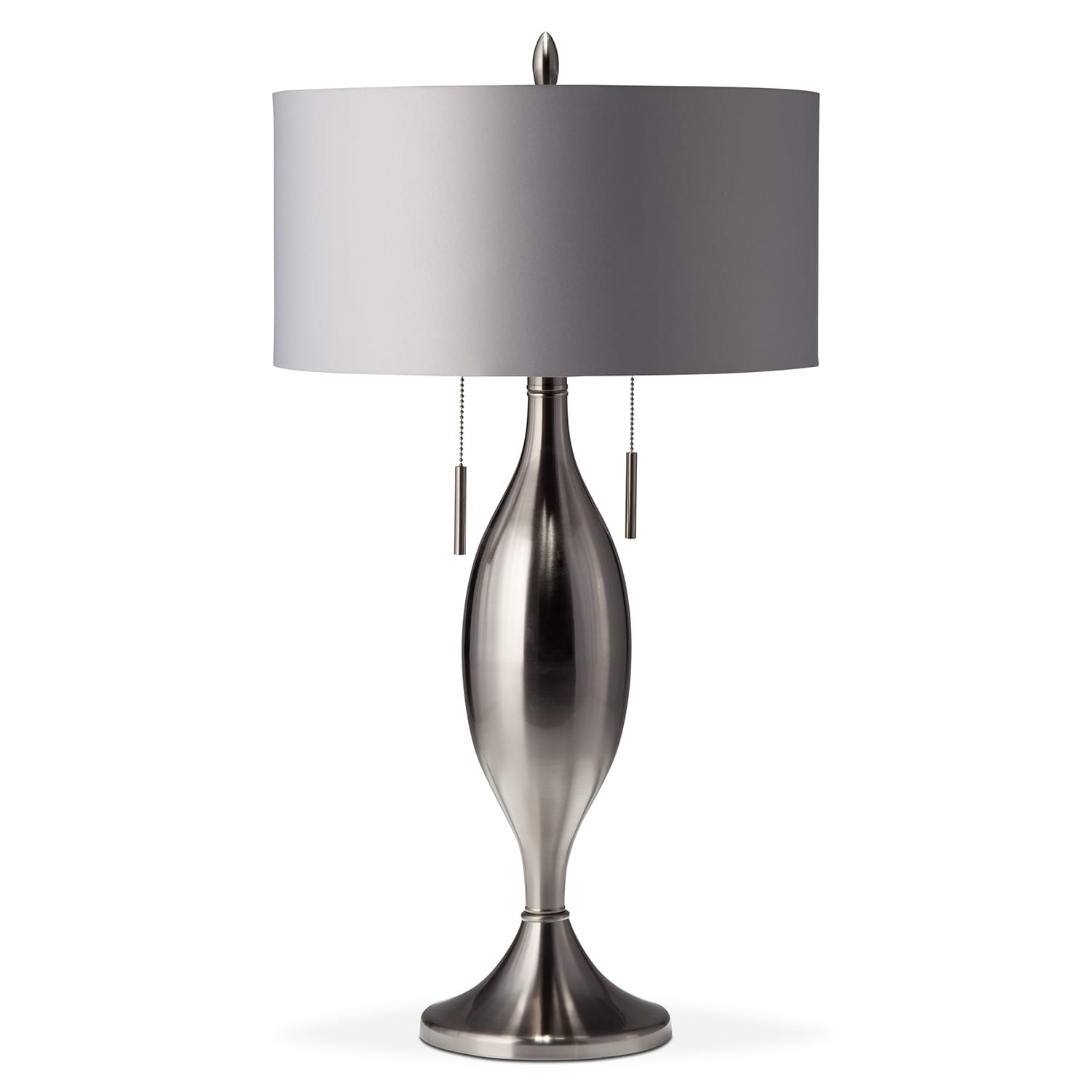 silver tassel table lamp american signature furniture