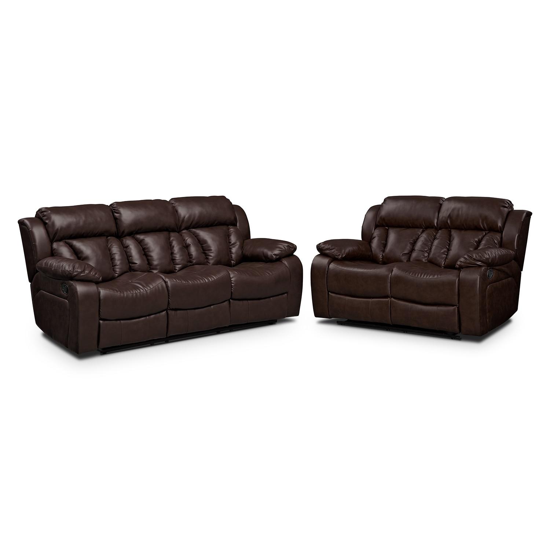 [Maverick 2 Pc. Reclining Living Room]