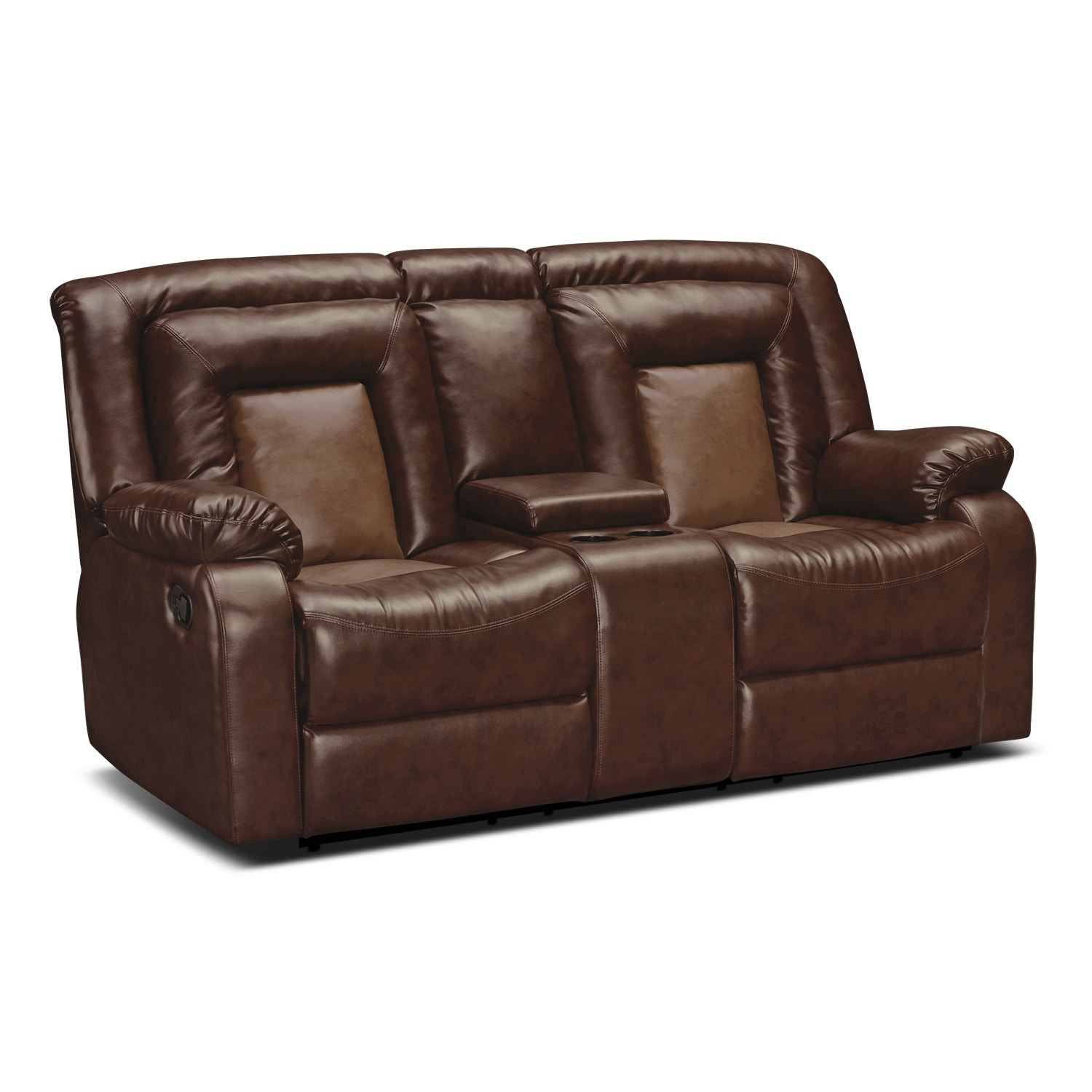Coming soon Leather reclining loveseat